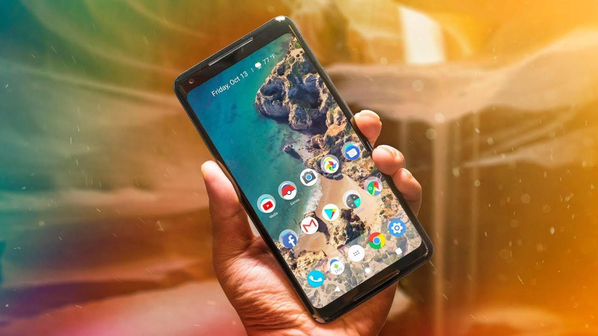 Die Pixel-2-Smartphones knipsen dank eines Updates bald schärfere Fotos.