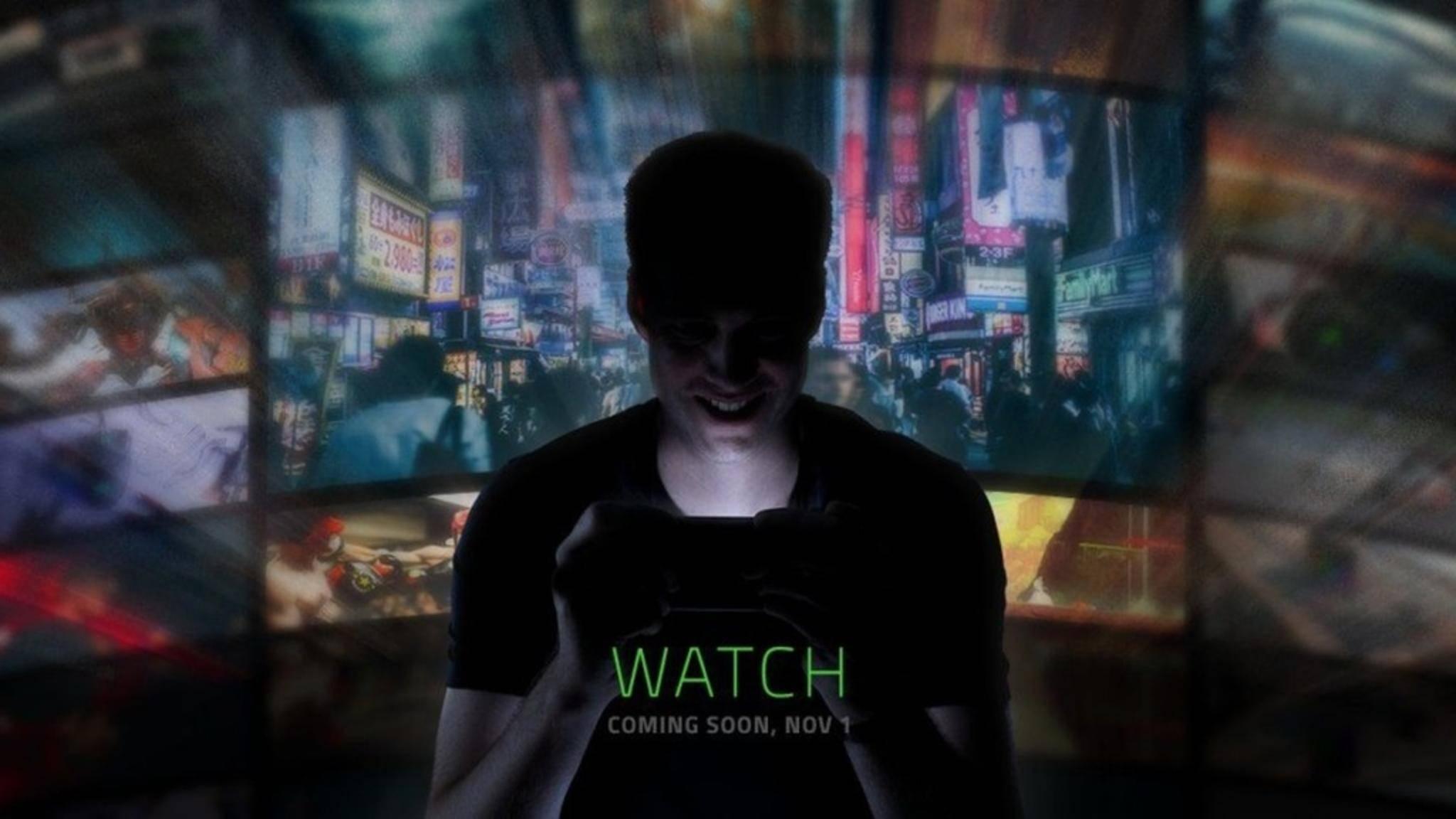 Razer möchte sein erstes Smartphone am 1. November offiziell vorstellen.