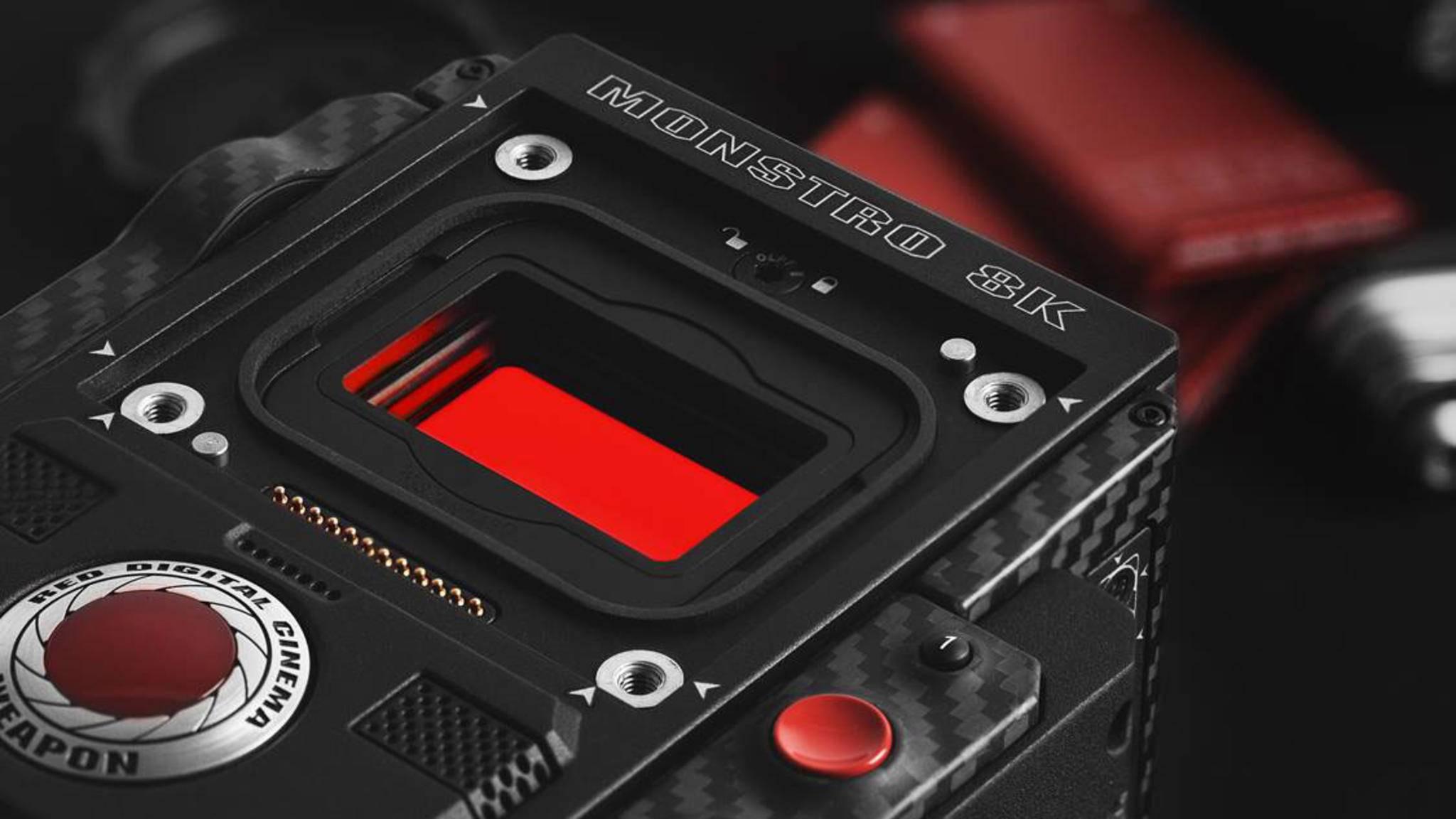 Kostet als Modul 29.500 US-Dollar: Der Vollbild-Sensor Red Monstro.