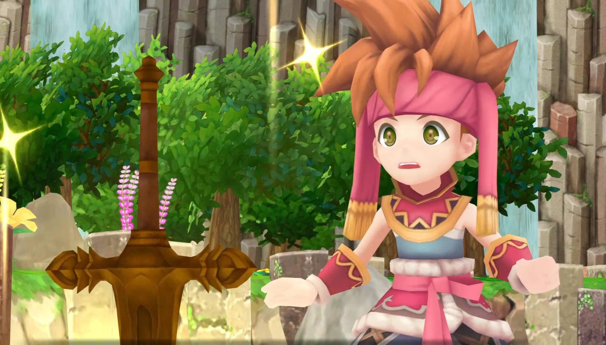 """""""Secret of Mana"""" kommt in bunter 3D-Grafik – aber nicht auf die Nintendo Switch."""