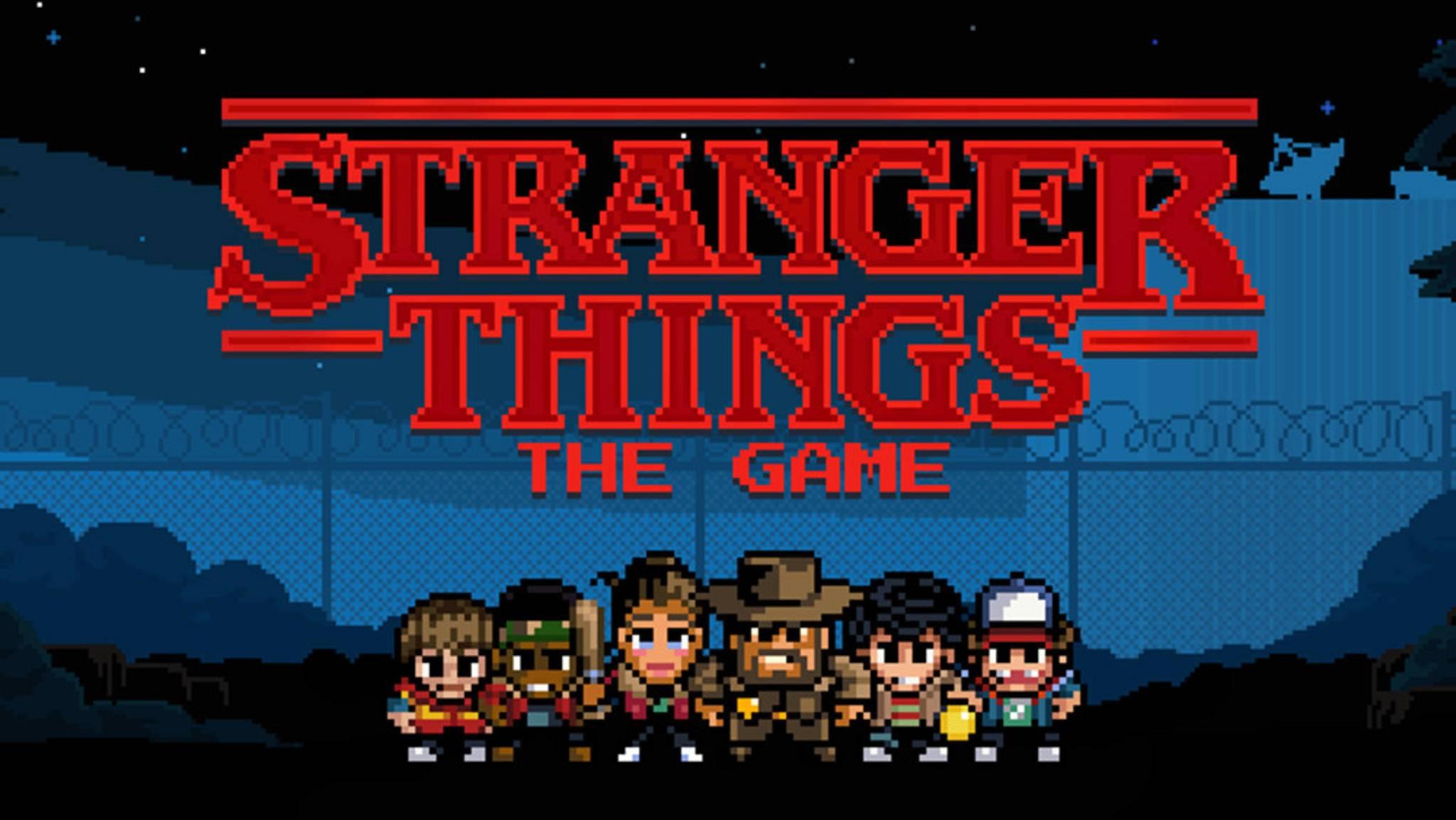 """Kurz vor dem Start der zweiten """"Stranger Things""""-Staffel bekommt die Mystery-Serie ein eigenes Mobile-Spiel."""