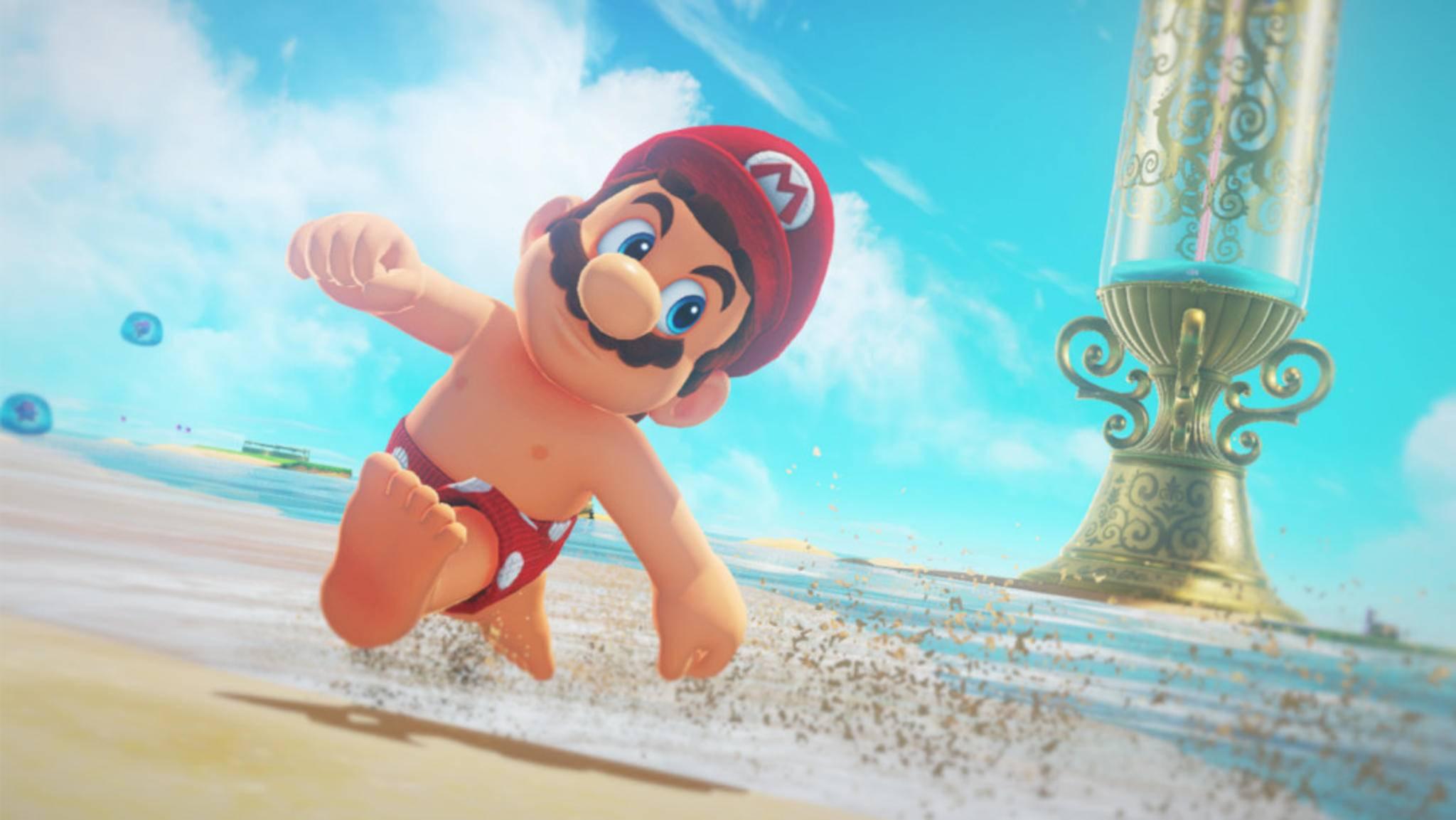 Seit sich Mario erstmals in Badehose präsentiert hat, steht das Internet Kopf.