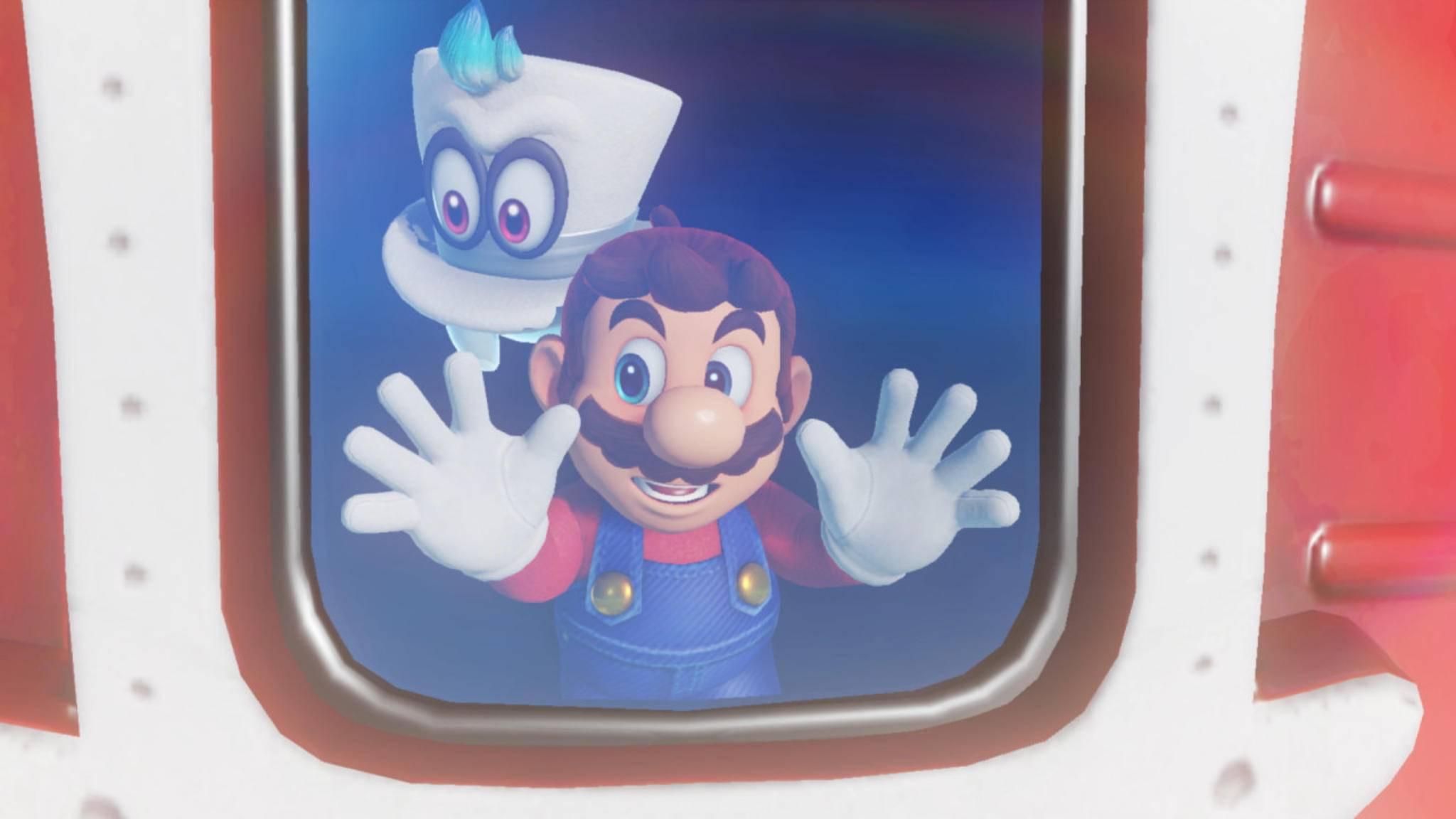 """Ist das noch Mario? In """"Super Mario Odyssey"""" werden die Abenteuer des knuffigen Helden generalüberholt."""