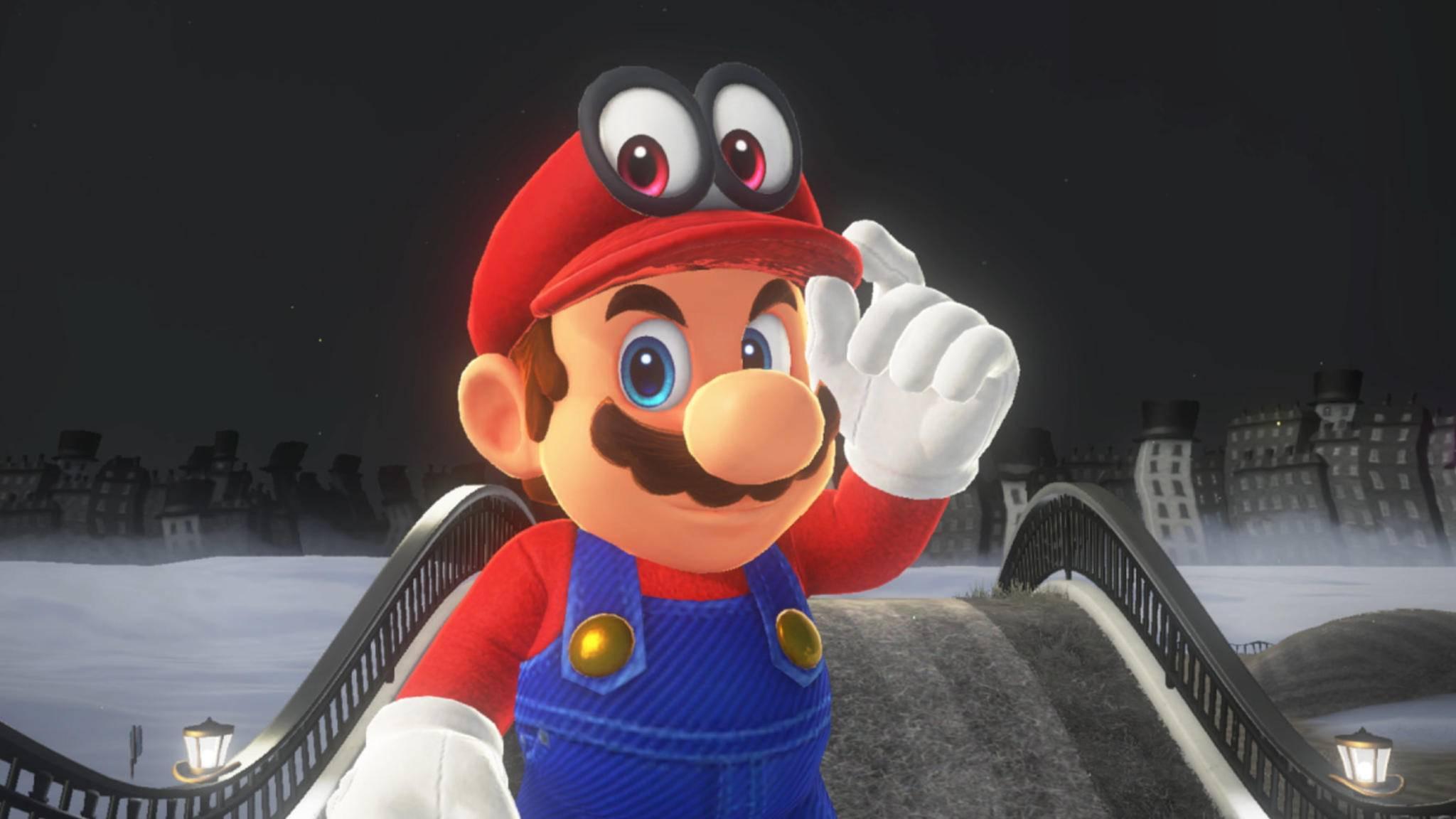 Womit stärkt sich Mario vor seinen Abenteuern eigentlich? Vielleicht mit seinen neuen Cornflakes?