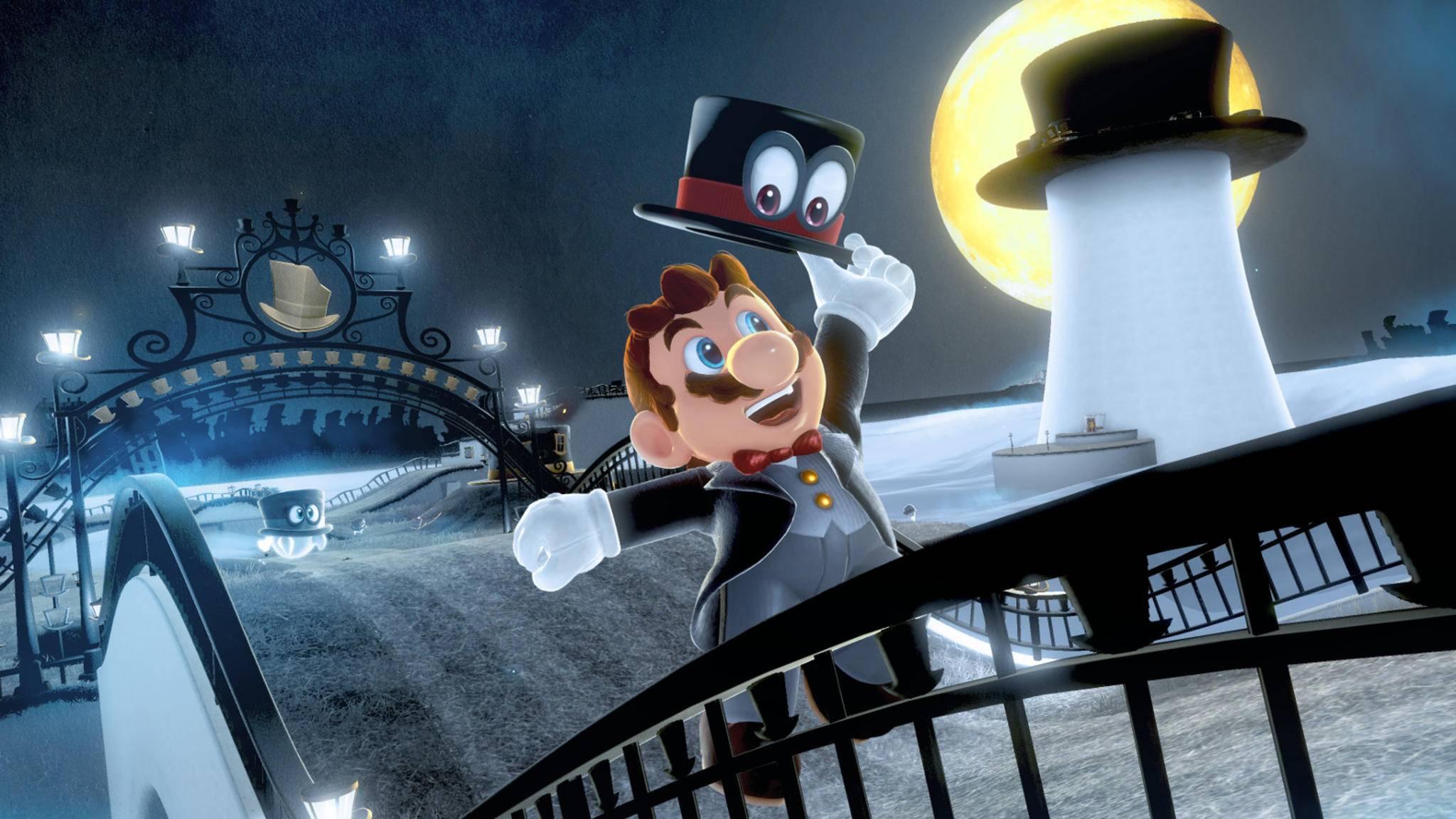 """Mit Hut und in VR: """"Super Mario Odyssey"""" bekommt bald ein neues Update."""
