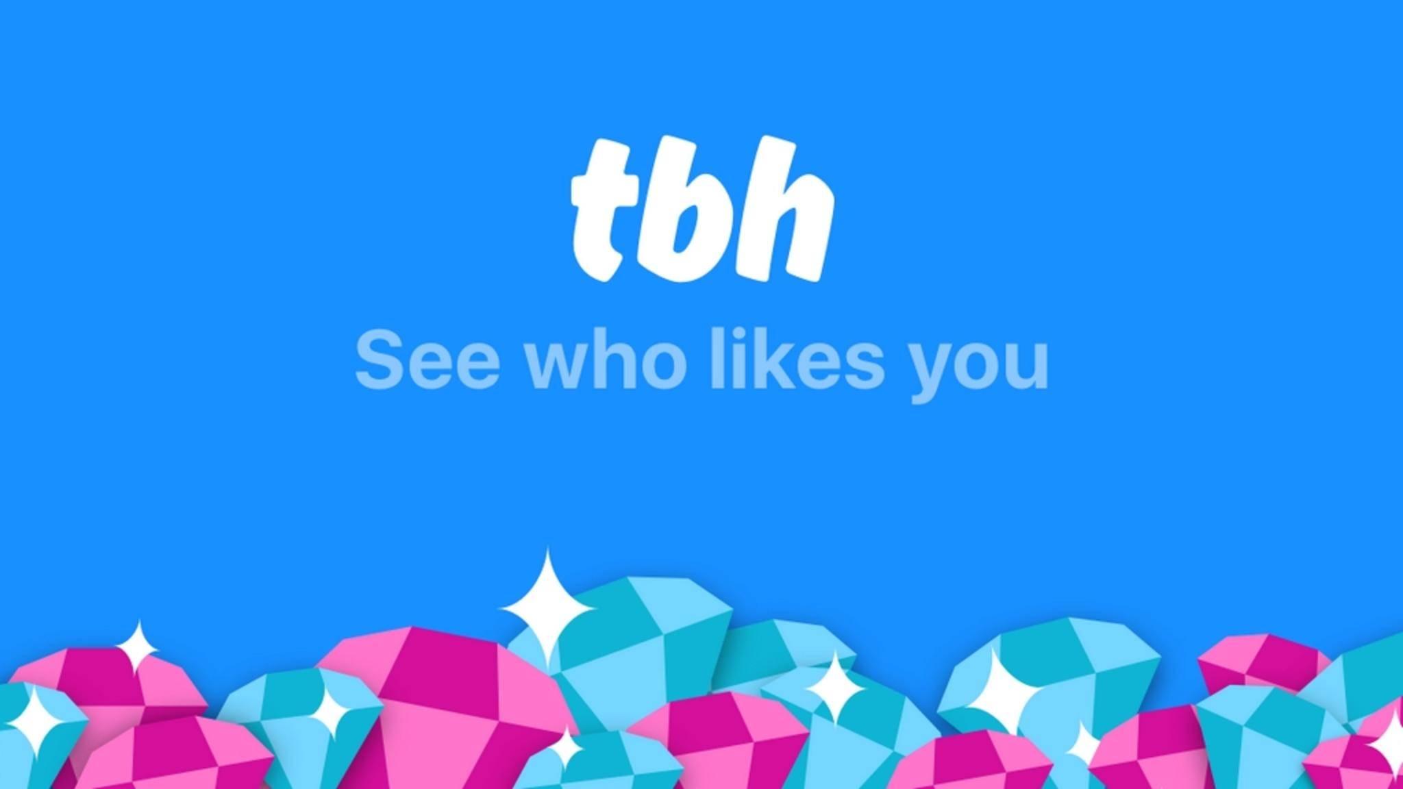 Facebook schnappt sich die Komplimente-App tbh.
