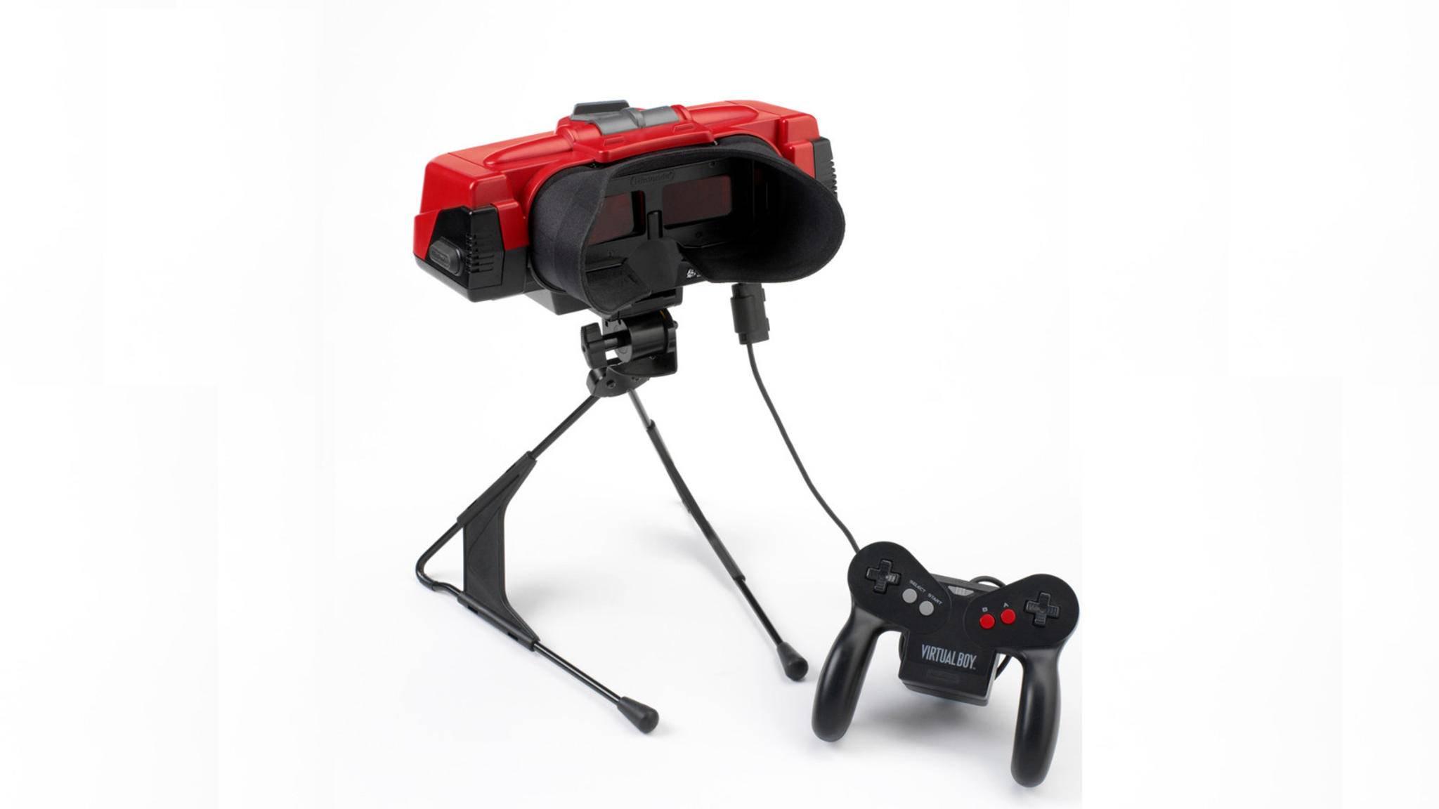 Das war nix: Mit dem Virtual Boy griff Nintendo in den Neunzigern ordentlich daneben.