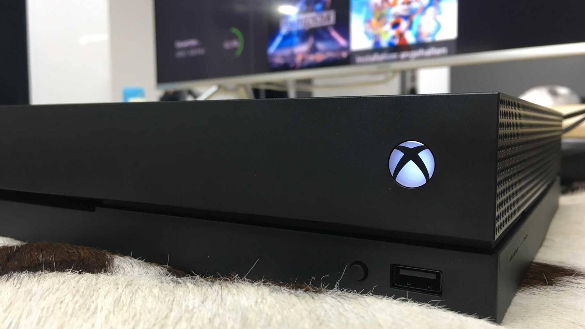 Xbox One X: Die Hardware-Verkäufe sind stark angestiegen.