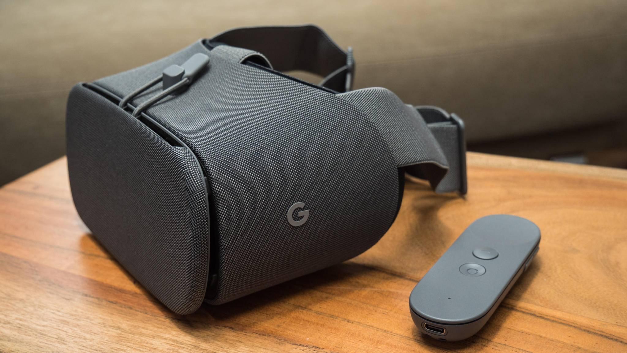 Die VR-Brille Daydream View 2017 wurde im Vergleich zum Vorgänger verbessert.