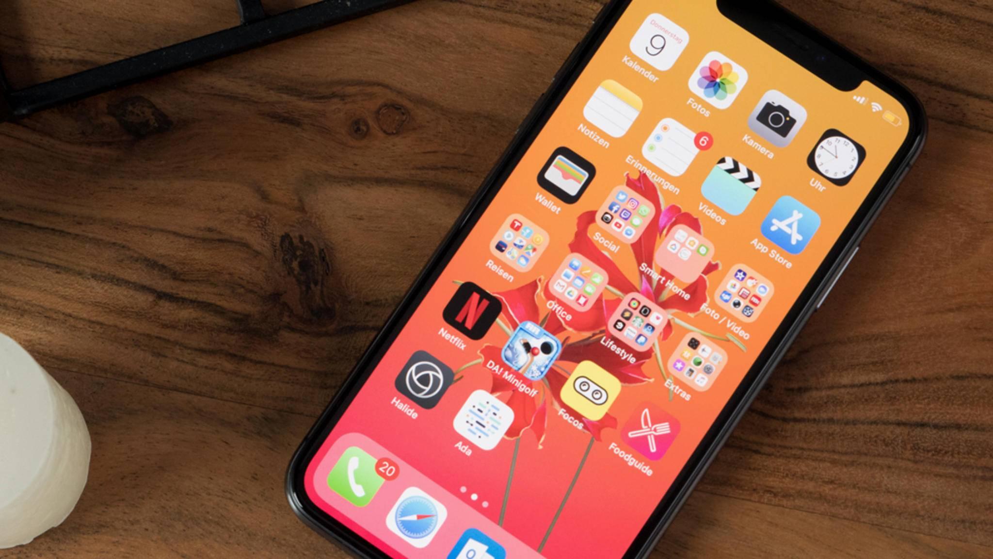 Das iPhone X wird dem High-End-Anspruch gerecht.
