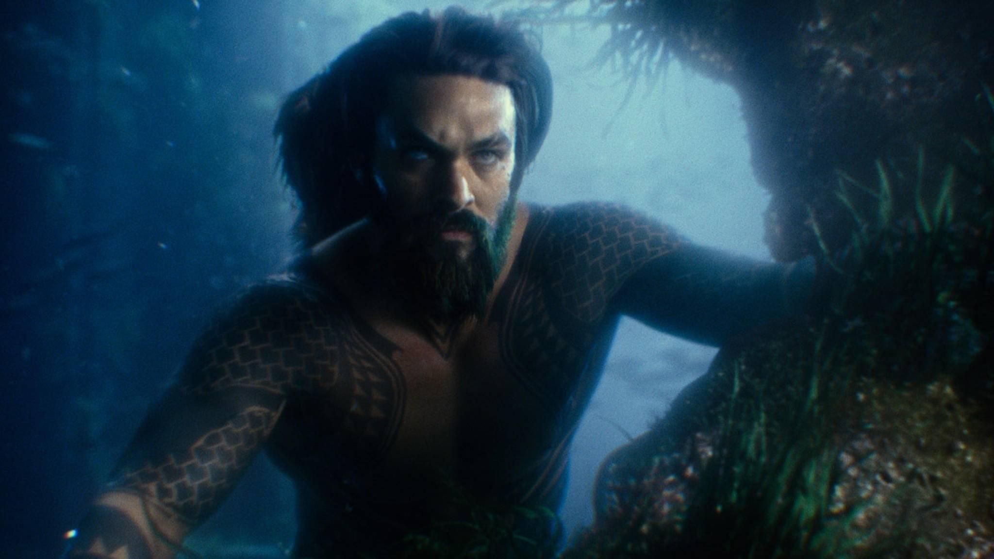 Aquaman soll bei seinem Solodebüt gänzlich ohne Luftblasen-Gespräche auskommen.