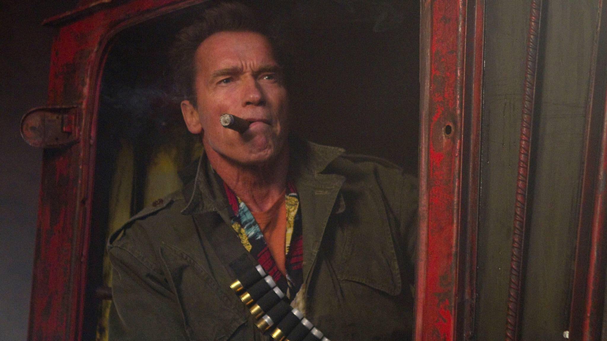 Arnold Schwarzenegger ist das Paradebeispiel für Actionstars, die auch jenseits der 50 noch überzeugen können.