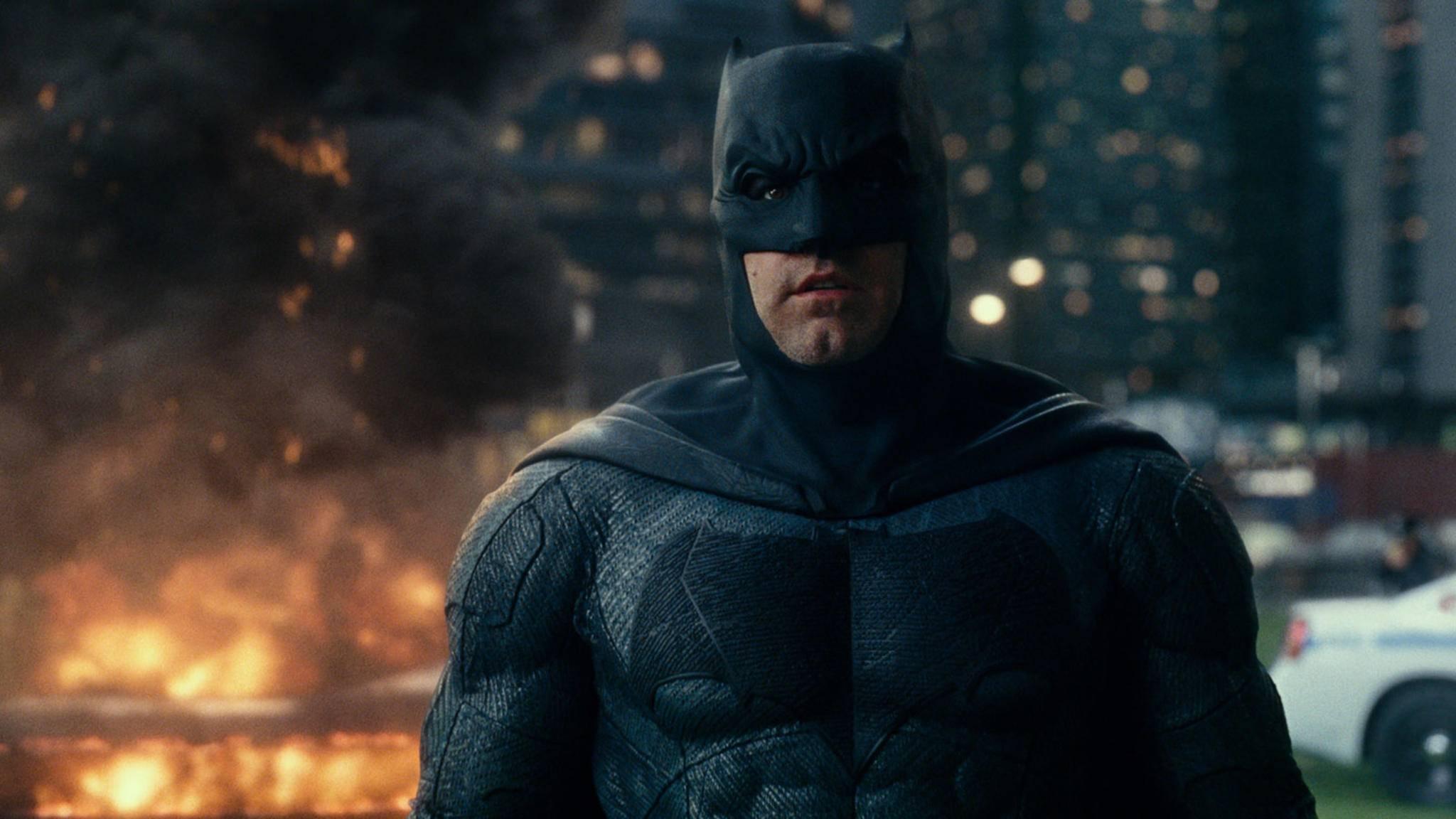Der Heldenanzug sitzt: Ben Affleck spielte in drei DC-Filmen den dunklen Rächer.
