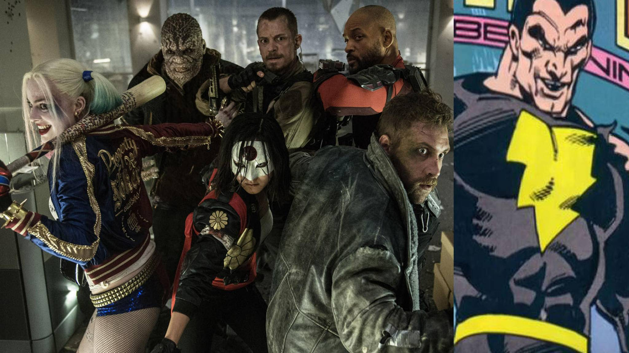 """In """"Suicide Squad 2"""" könnte es das Selbstmordkommando mit Black Adam zutun bekommen."""