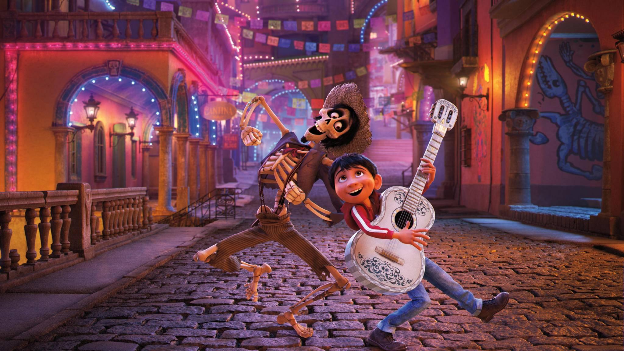 """Die """"Coco""""-Macher haben allen Grund zum Feiern: Ihr Animationsfilm lässt die Kinokassen klingeln."""