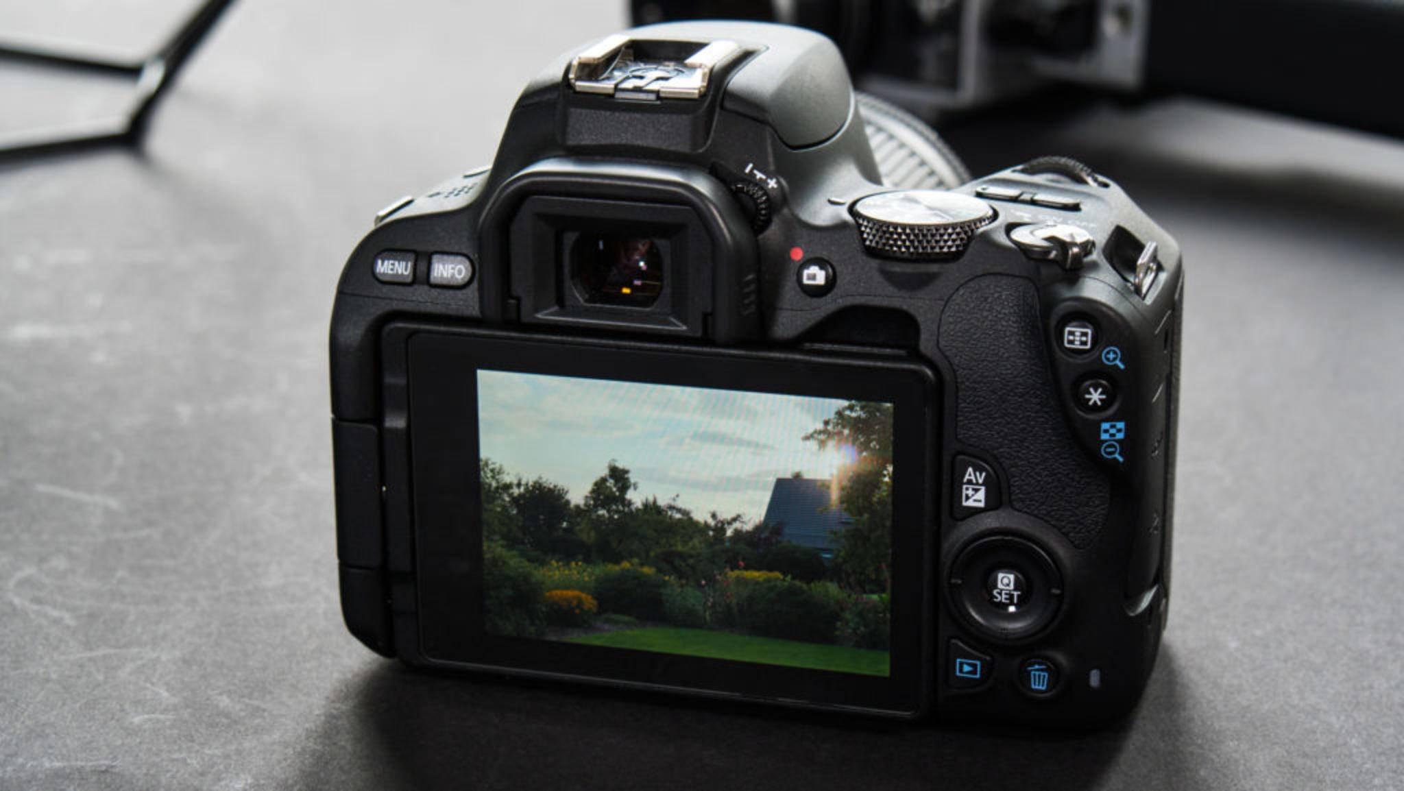 Canon kündigt angeblich schon bald eine eigene Vollformat-DSLM an (hier die DSLR Canon EOS 200D)