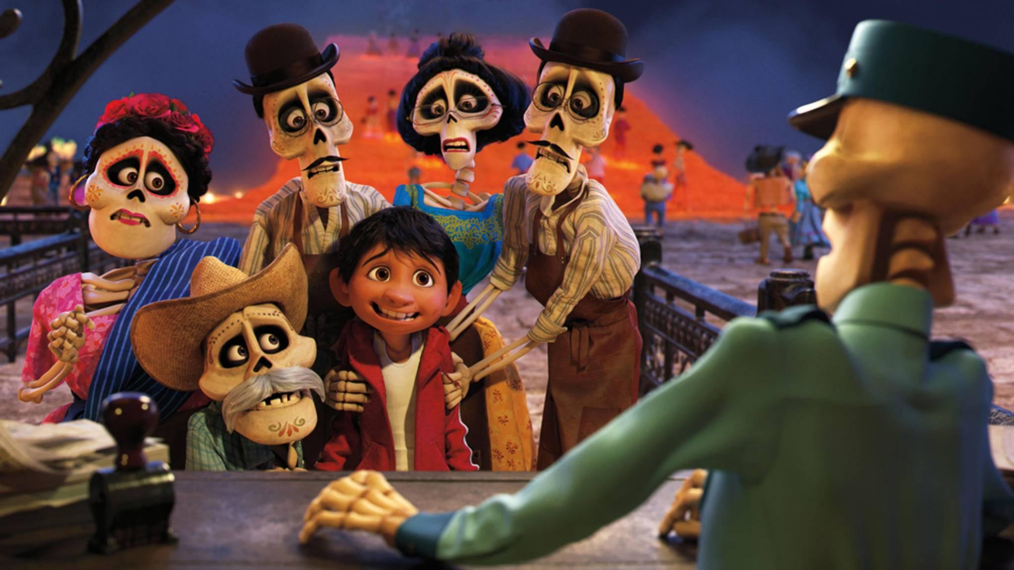 """Am 30. November startet in den deutschen Kinos das neue Animationsspektakel """"Coco"""" aus dem Hause Disney/Pixar."""