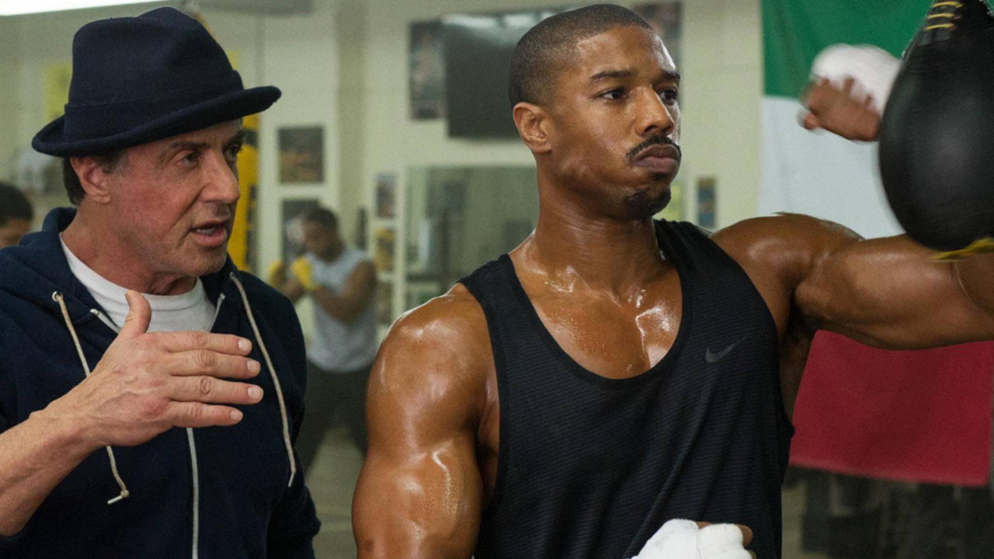 """Wird Rocky in """"Creed 2"""" zum Ersatzpapa von Adonis?"""