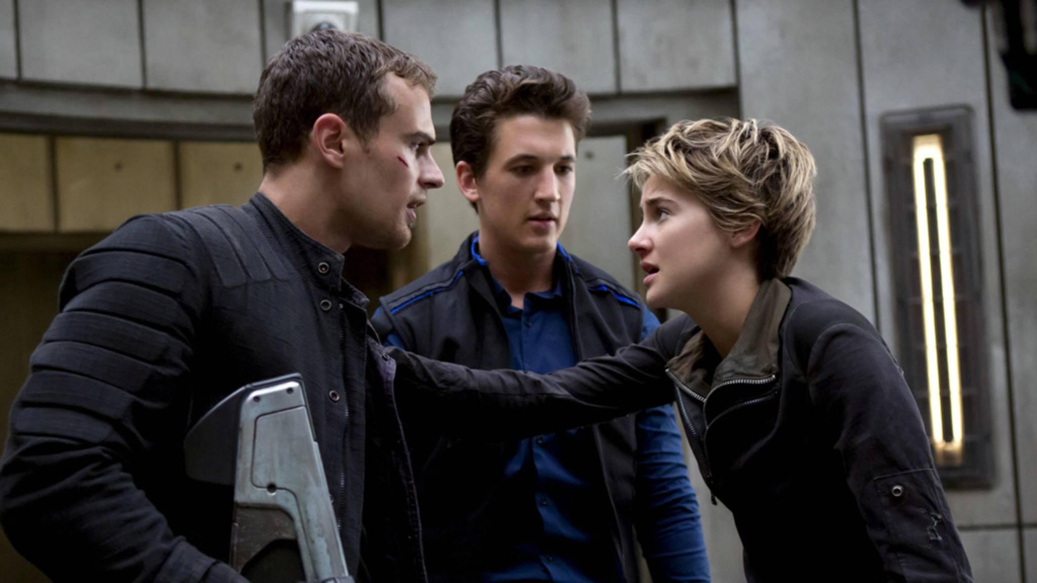 Four und Tris begeben sich in den finalen Kampf.