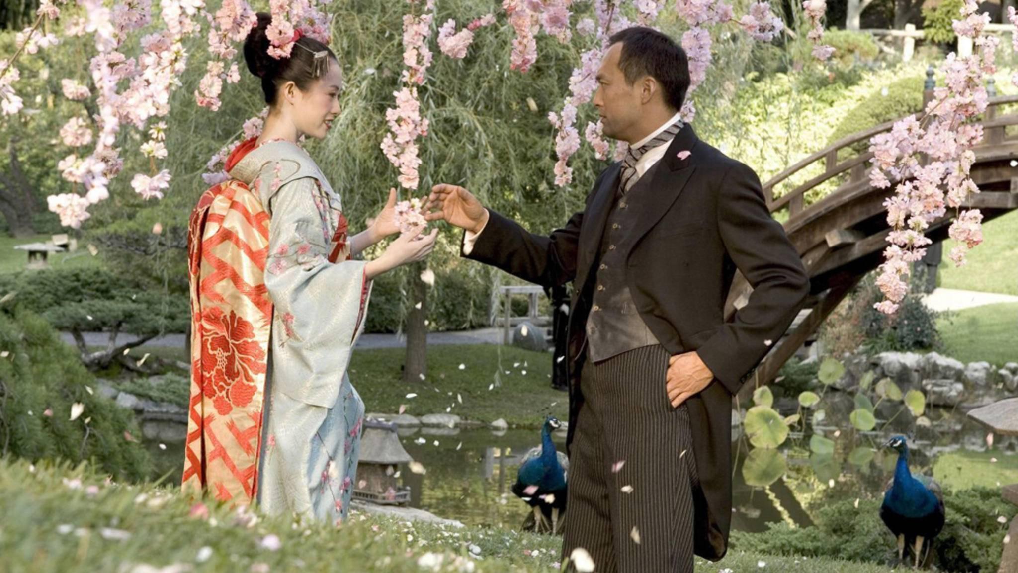 """Trotz einiger schöner Bilder konnte die Buchverfilmung von """"Die Geisha"""" bei vielen Fans einfach nicht punkten."""