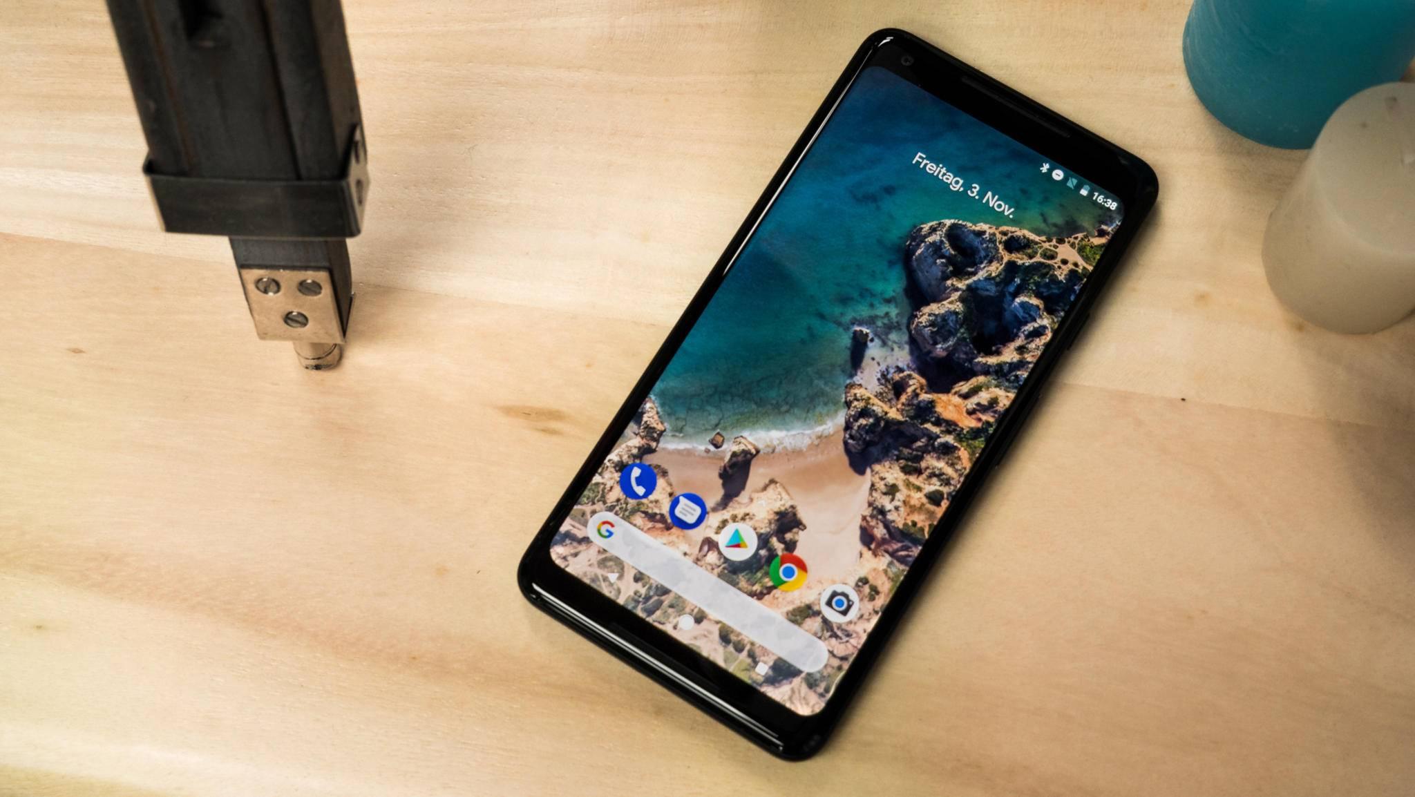 Das Pixel 2 XL wird von einem kuriosen Bug heimgesucht.