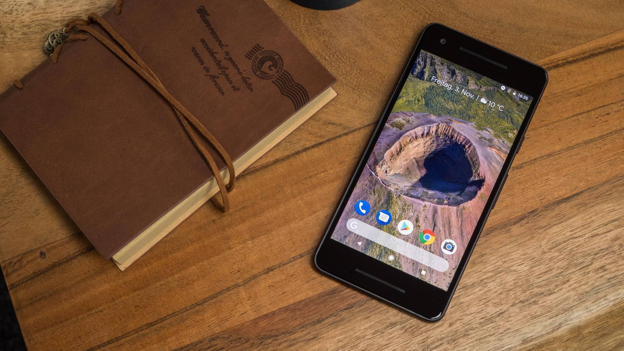 Das Google Pixel 2 ist ein leistungsstarkes Smartphone unter 5 Zoll.
