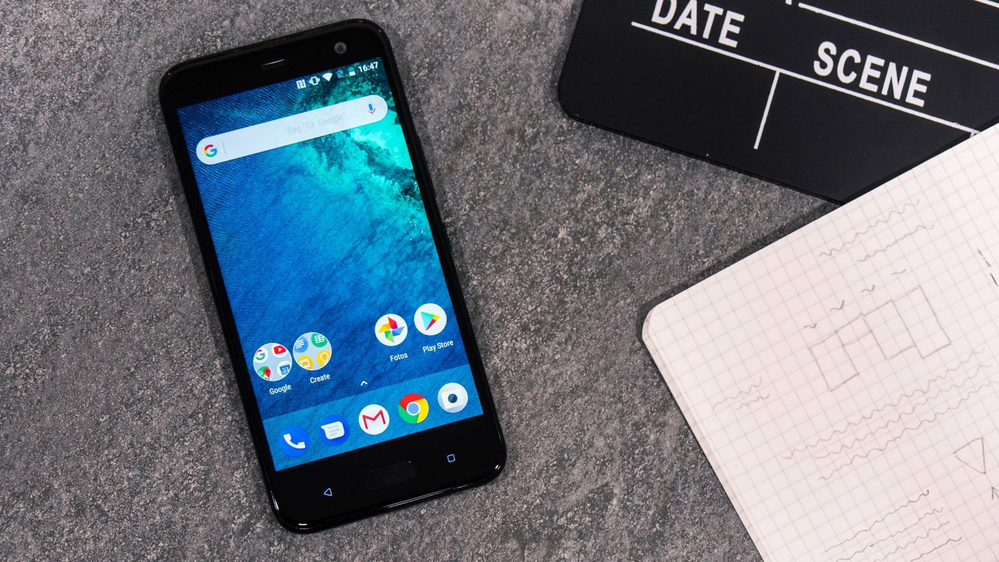 Das HTC U11 Life ist das erste Android-One-Smartphone in Deutschland.