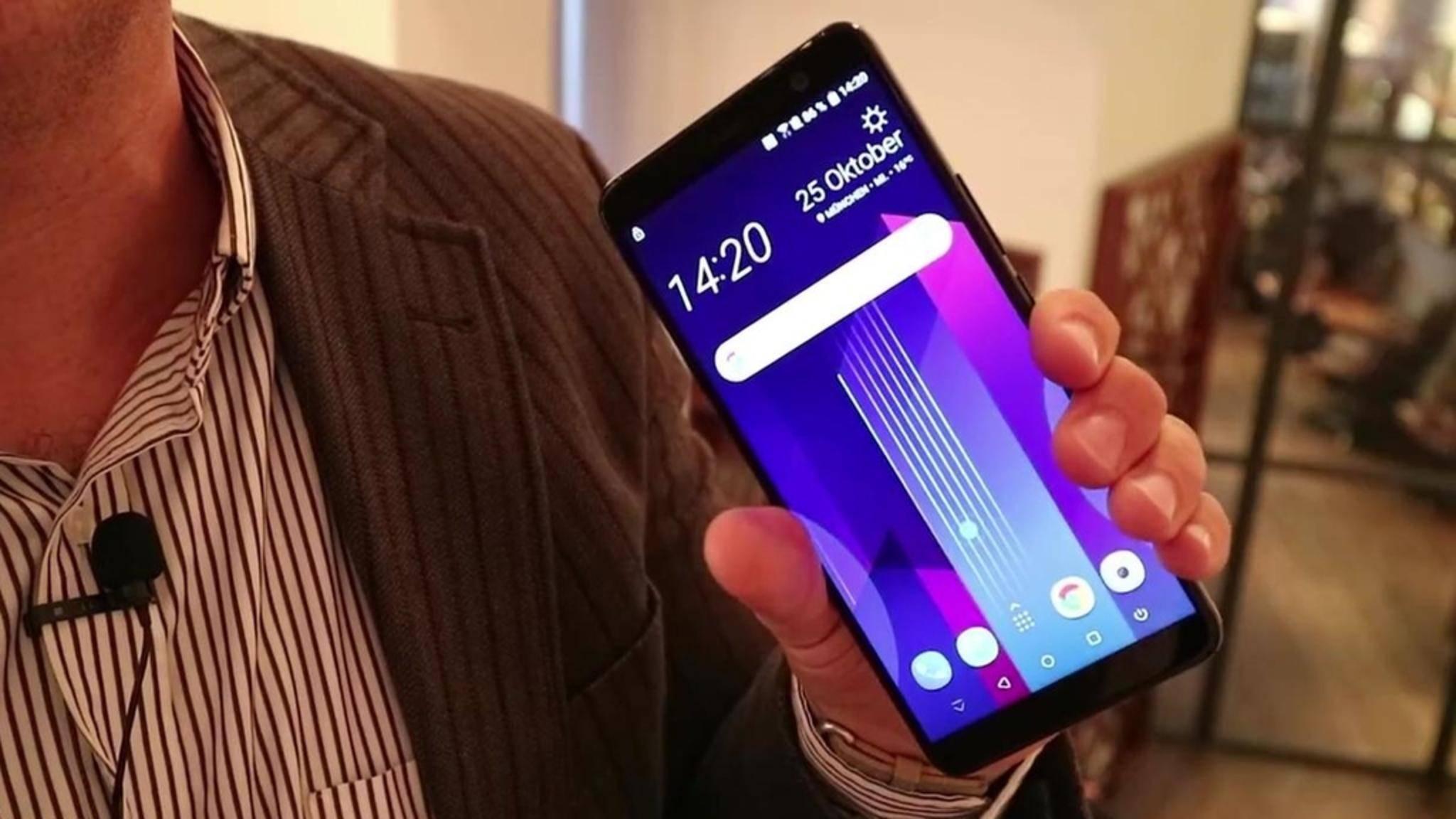 Das HTC U11 Plus setzt auf das 18:9-Format.