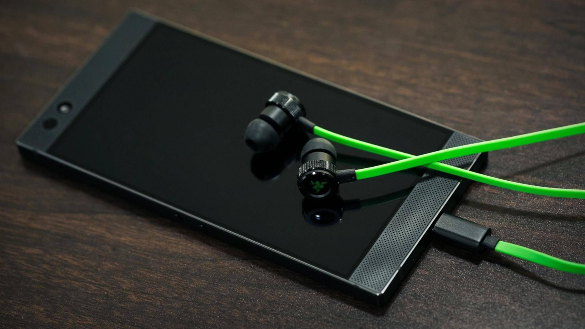 Die Hammerhead-In-Ears gibt es nun als USB-C-Modell für das Razer-Smartphone.
