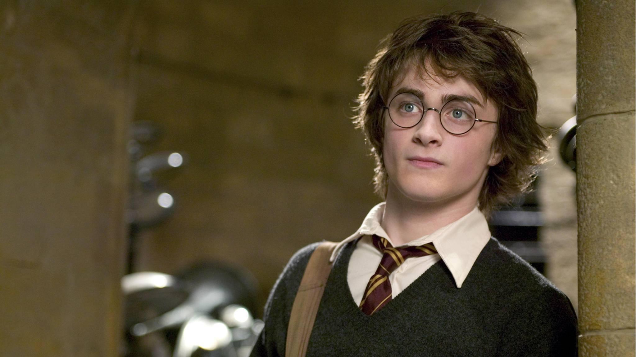 """Magisch: Der Harry-Potter-Darsteller höchstpersönlich liest """"Harry Potter""""."""