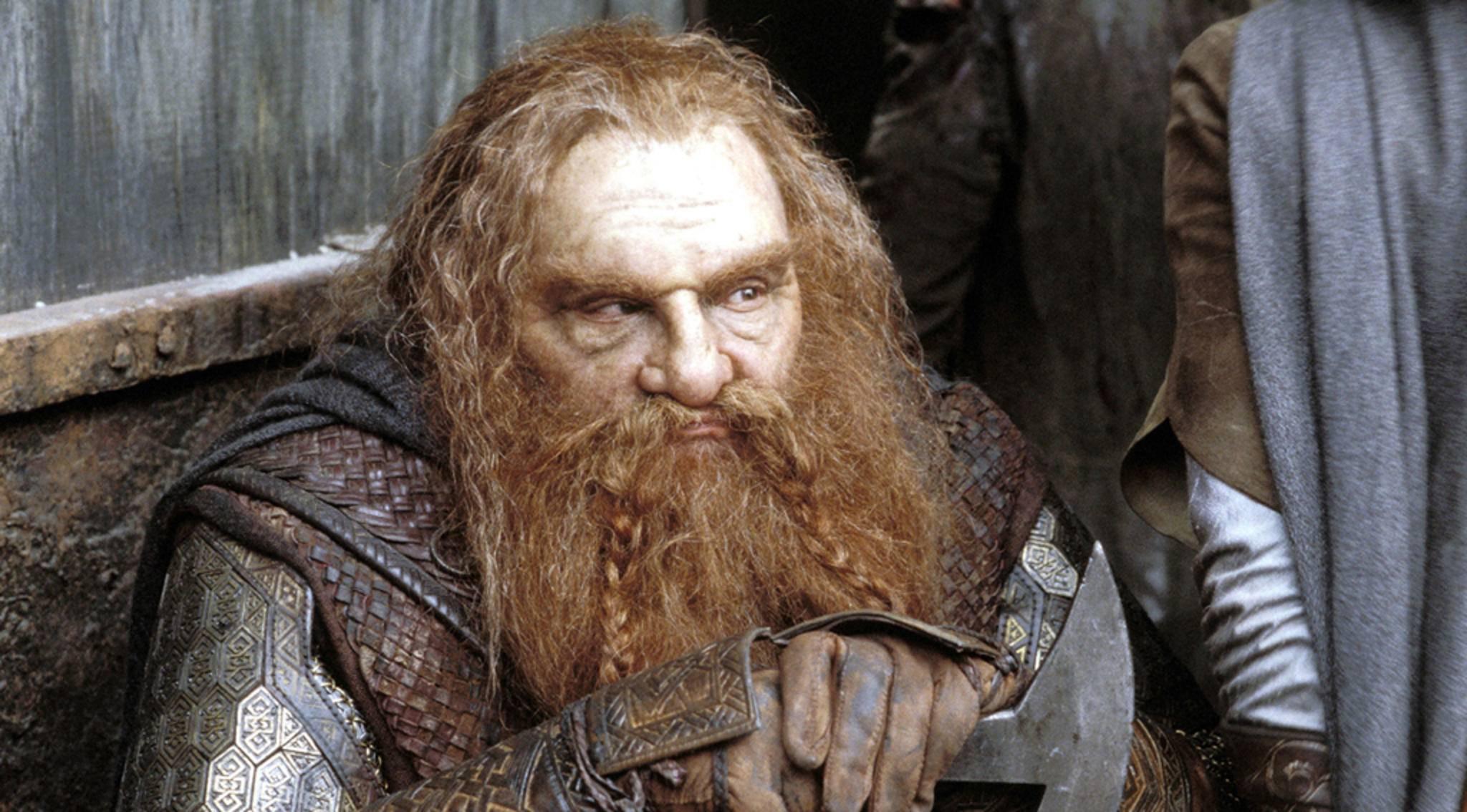 """Gimli-Darsteller John Rhys-Davies kann sich mit einer """"Herr der Ringe""""-Serie noch nicht so recht anfreunden."""