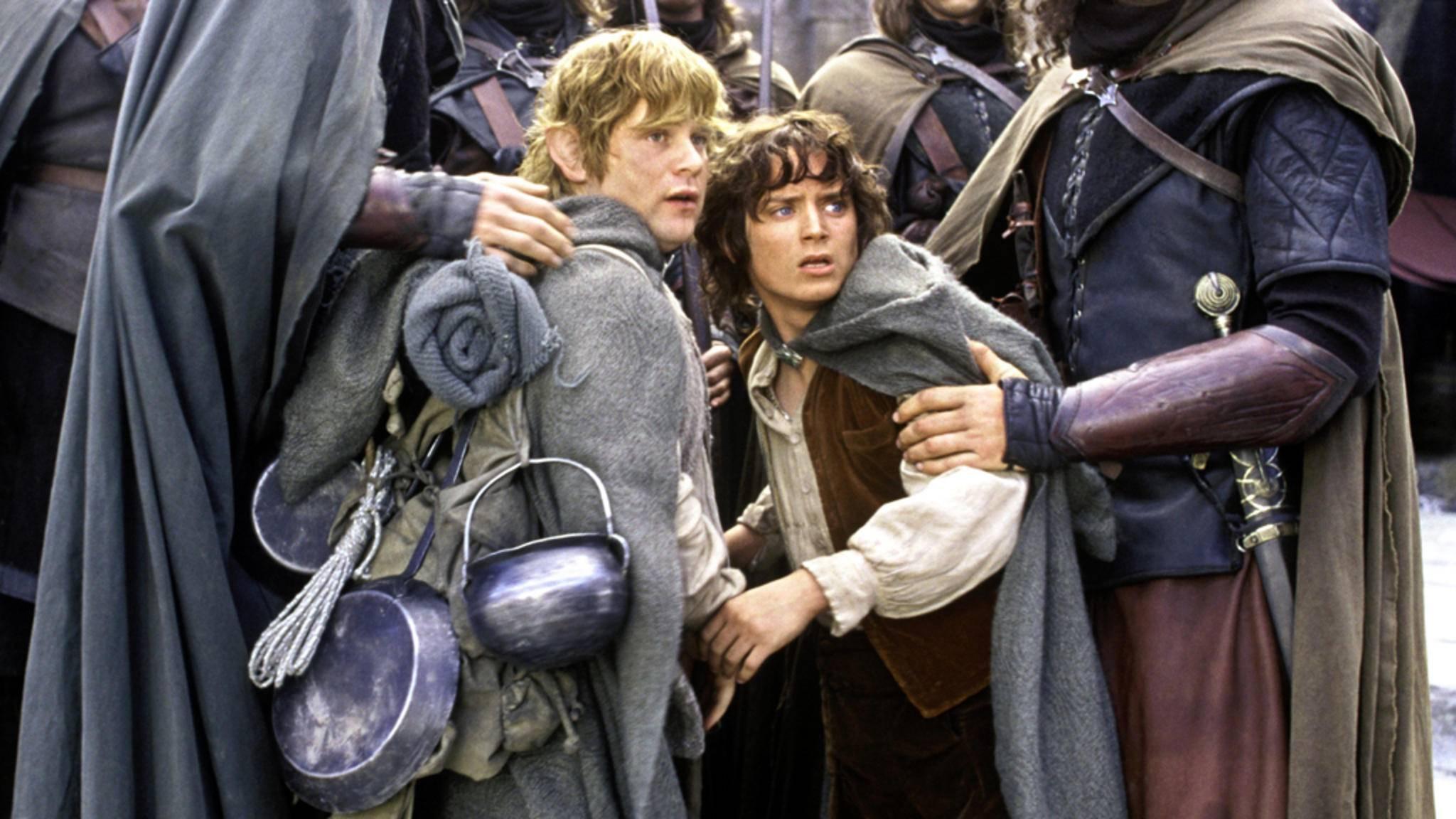 """Ob wir die """"Herr der Ringe""""-Helden Sam und Frodo in dieser Version wiedersehen werden, ist fraglich."""