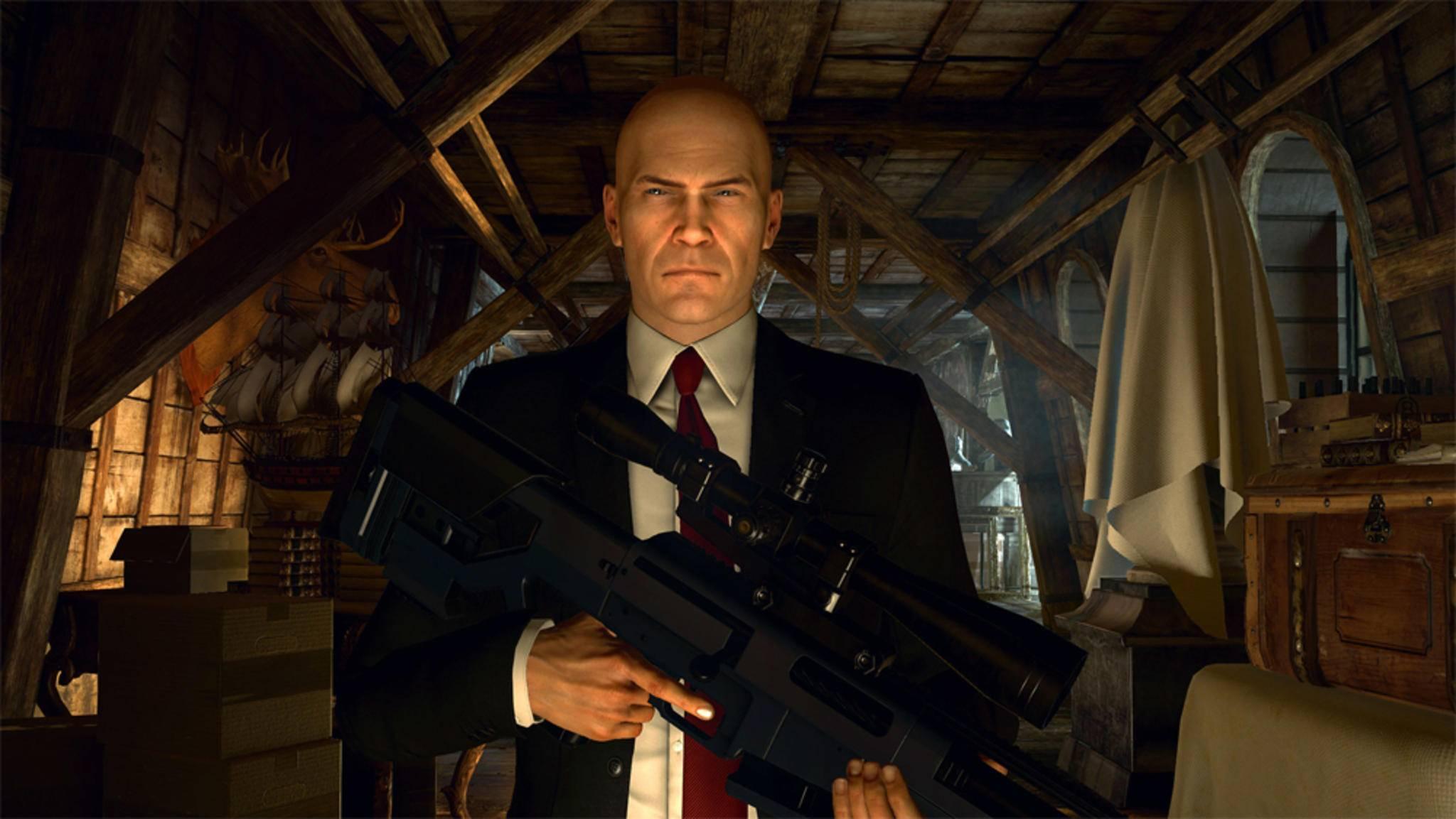 """Agent 47 bekommt schon bald seine eigene """"Hitman""""-Serie auf Hulu."""
