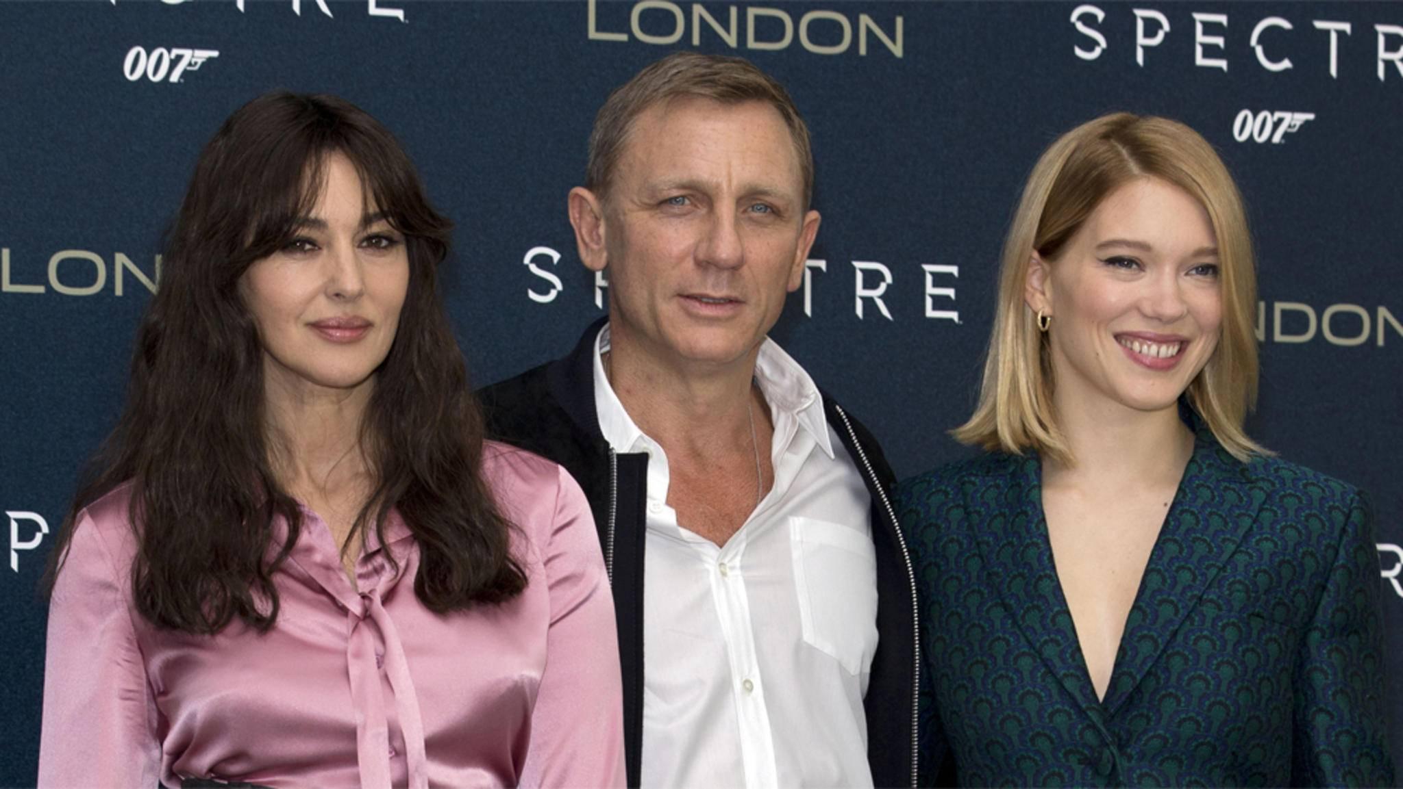 Wer darf Daniel Craig nach Monica Bellucci und Léa Seydoux als Bond-Girl Gesellschaft leisten?