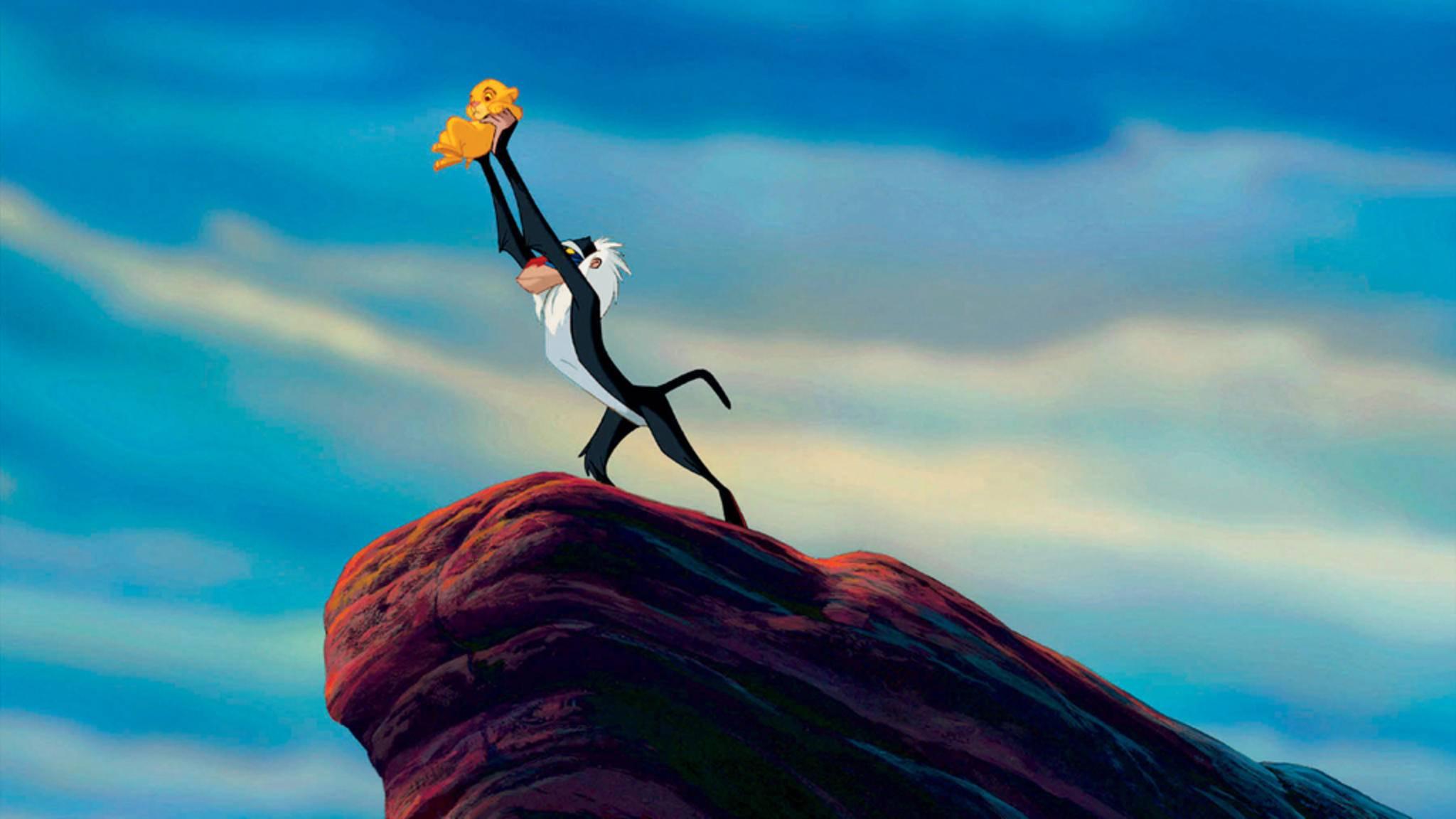 """Auch diese Szene findet sich in beiden """"König der Löwen""""-Trailern quasi deckungsgleich."""