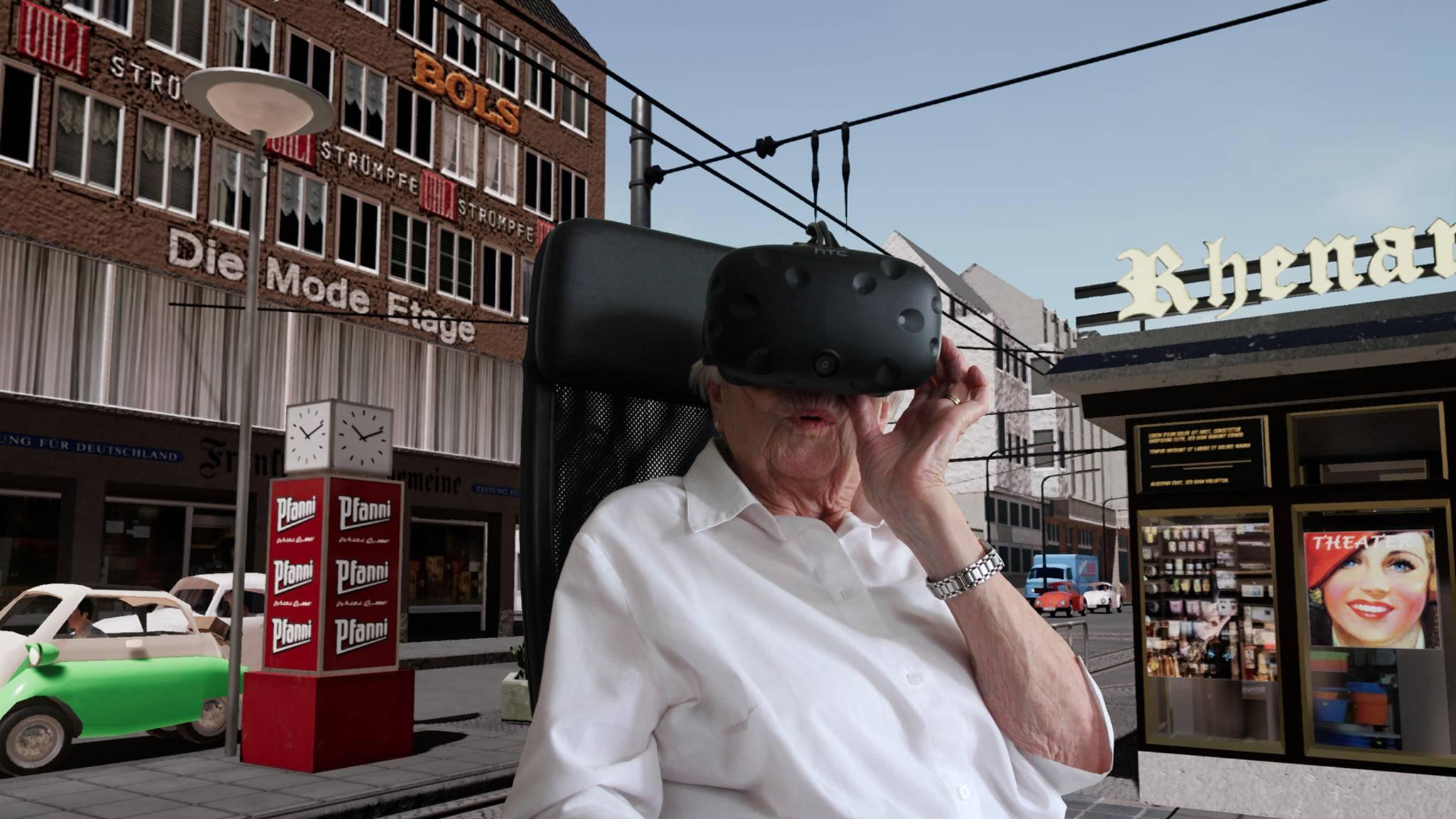 Real Fiction; Wer sich virtuell in der Vergangenheit bewegt, entkommt dem Vergessen.