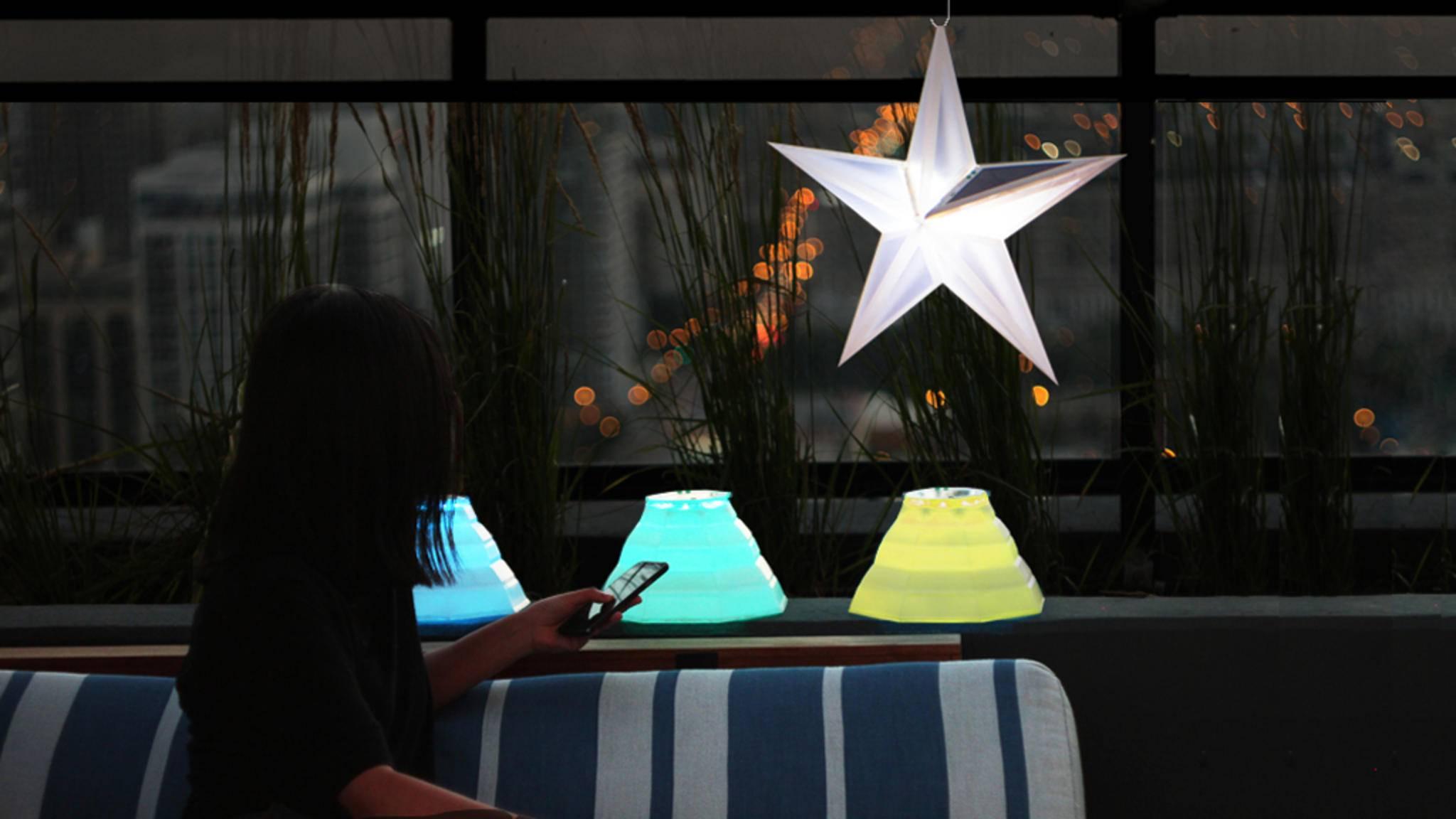 Die smarten Outdoor-Leuchten von LuminAID gibt es in zwei Varianten.