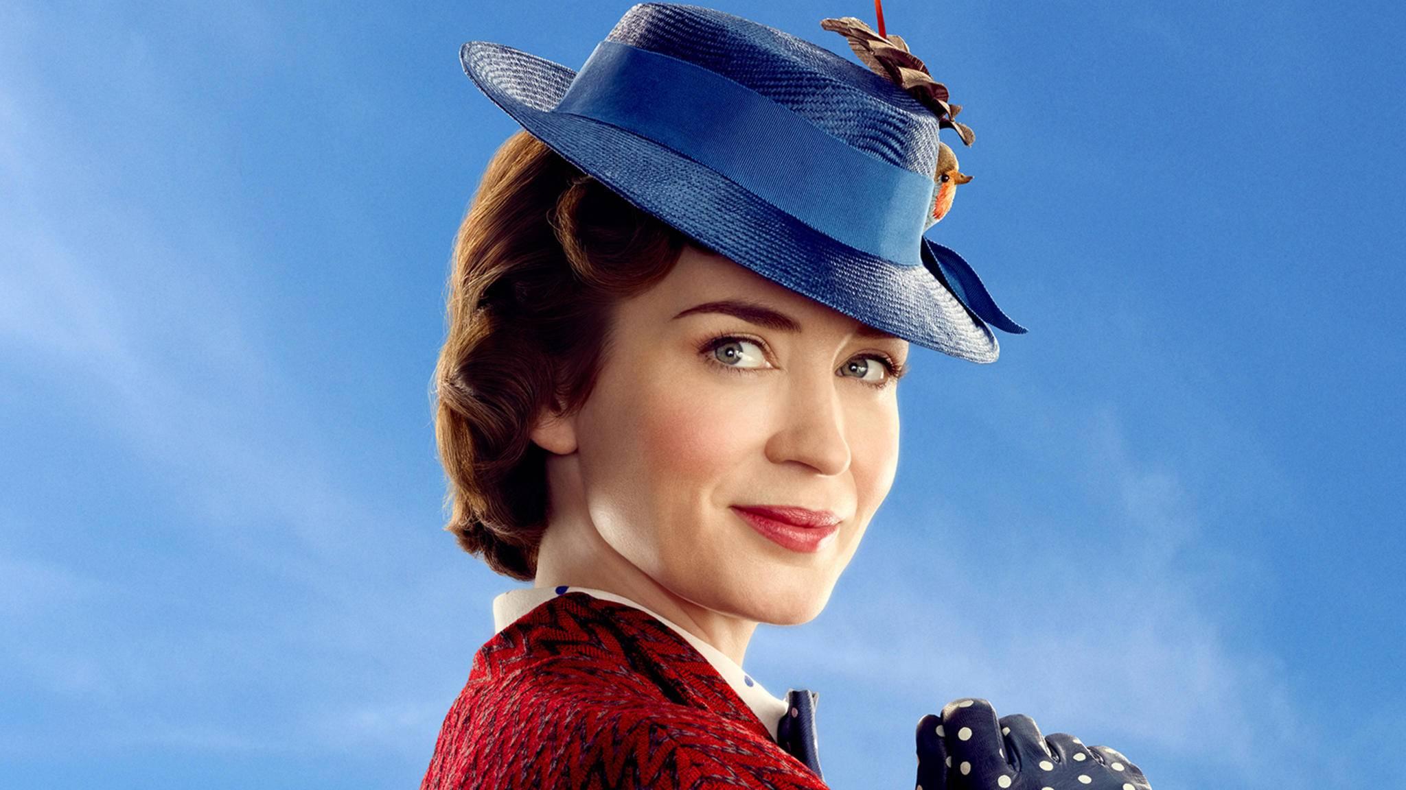 """In """"Mary Poppins 2"""" wird Emily Blunt zum zauberhaften Kindermädchen."""
