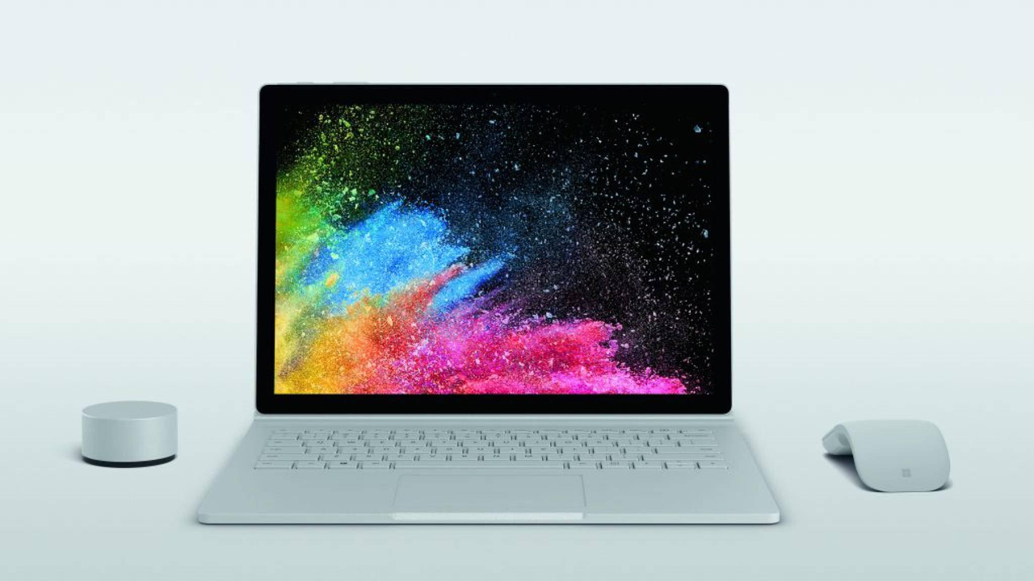 Das Surface Book 2 kann ab sofort vorbestellt werden.