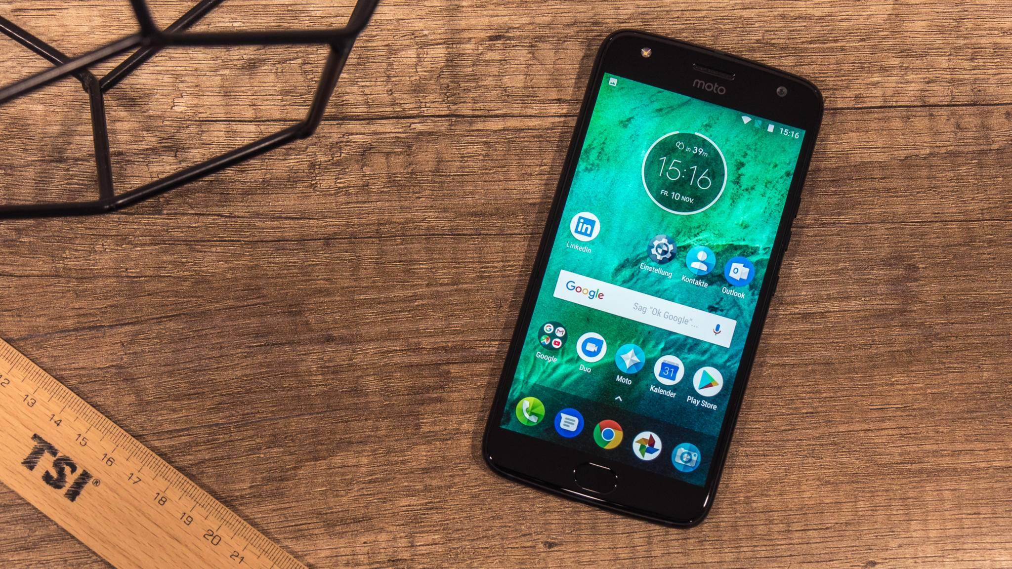 Mittelklasse-Smartphones wie das Motorola Moto X4 lassen sich bereits flüssig bedienen.