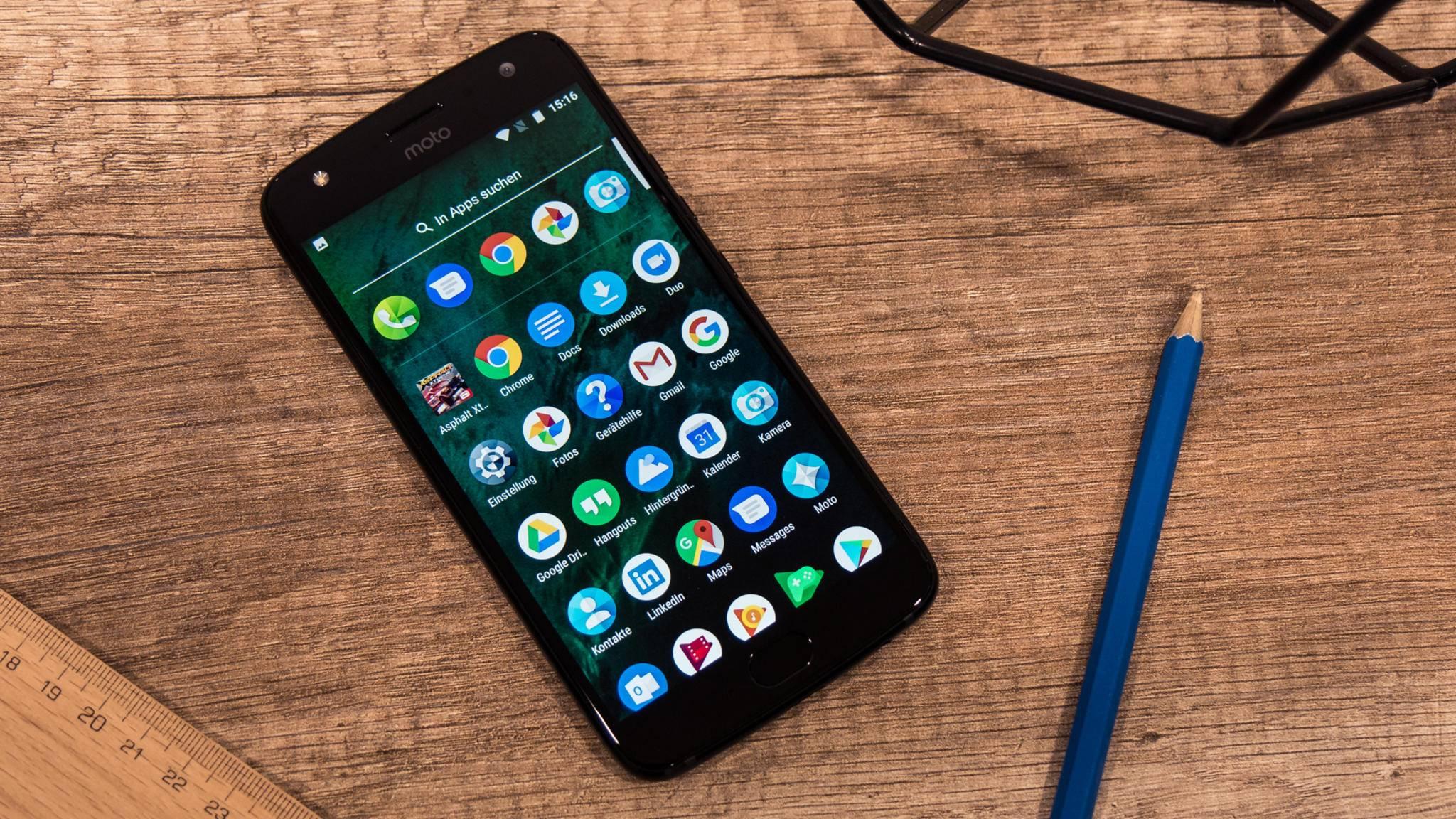 Das Moto X4 bietet spannende Features.