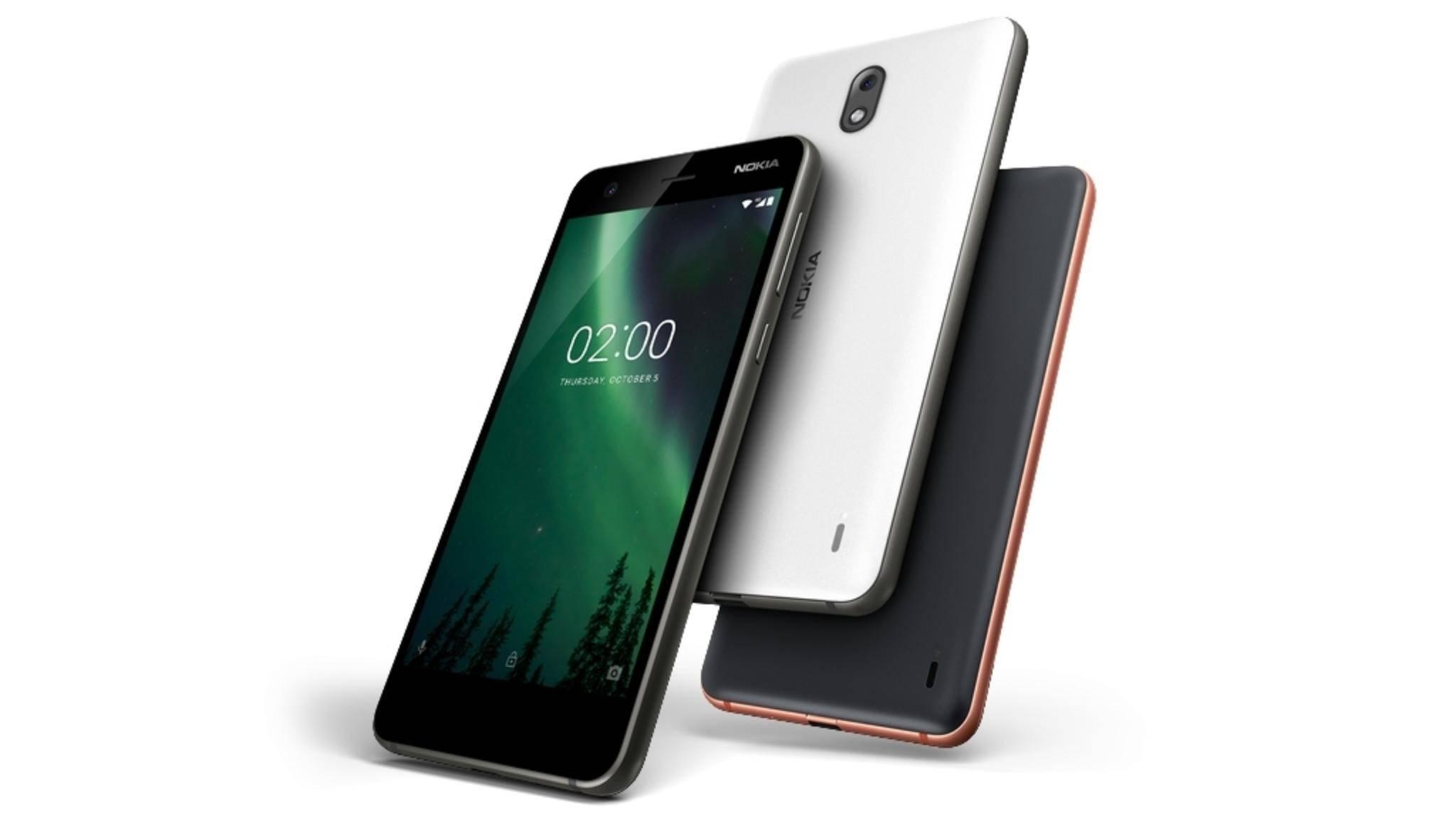 Das Nokia 2 kommt erst Anfang 2018 nach Deutschland.