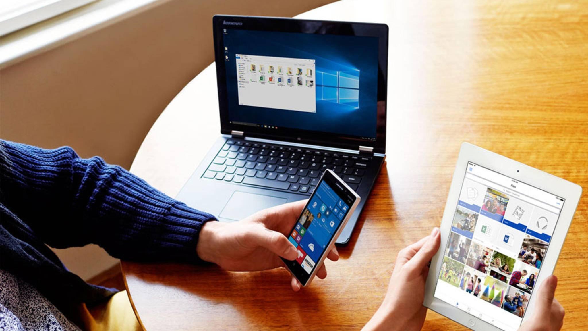 Wir verraten Dir, wie das Synchronisieren von Daten über OneDrive unter Windows 10 klappt.
