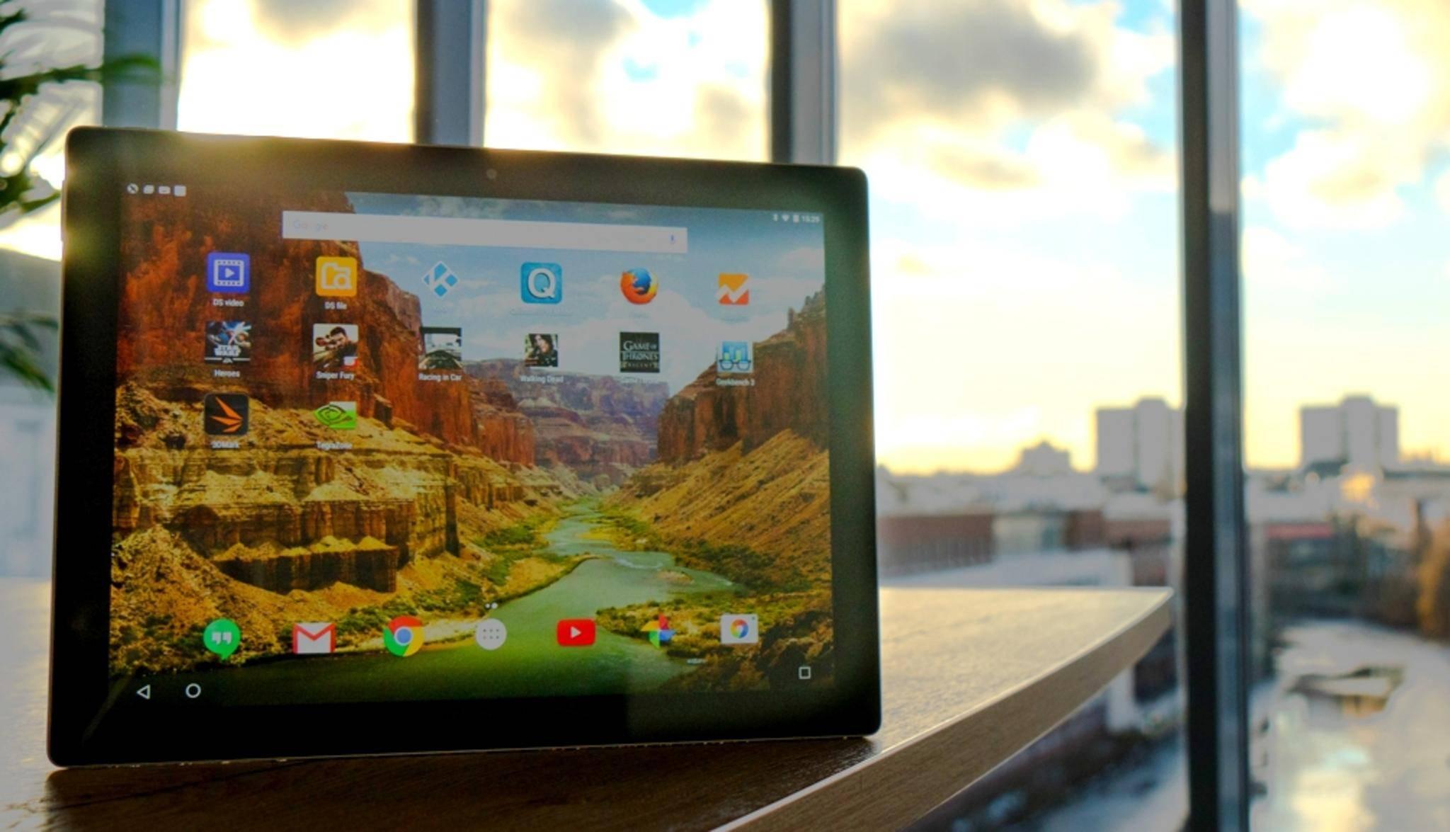 Android-Tablets könnten auch den Google Assistant bekommen.