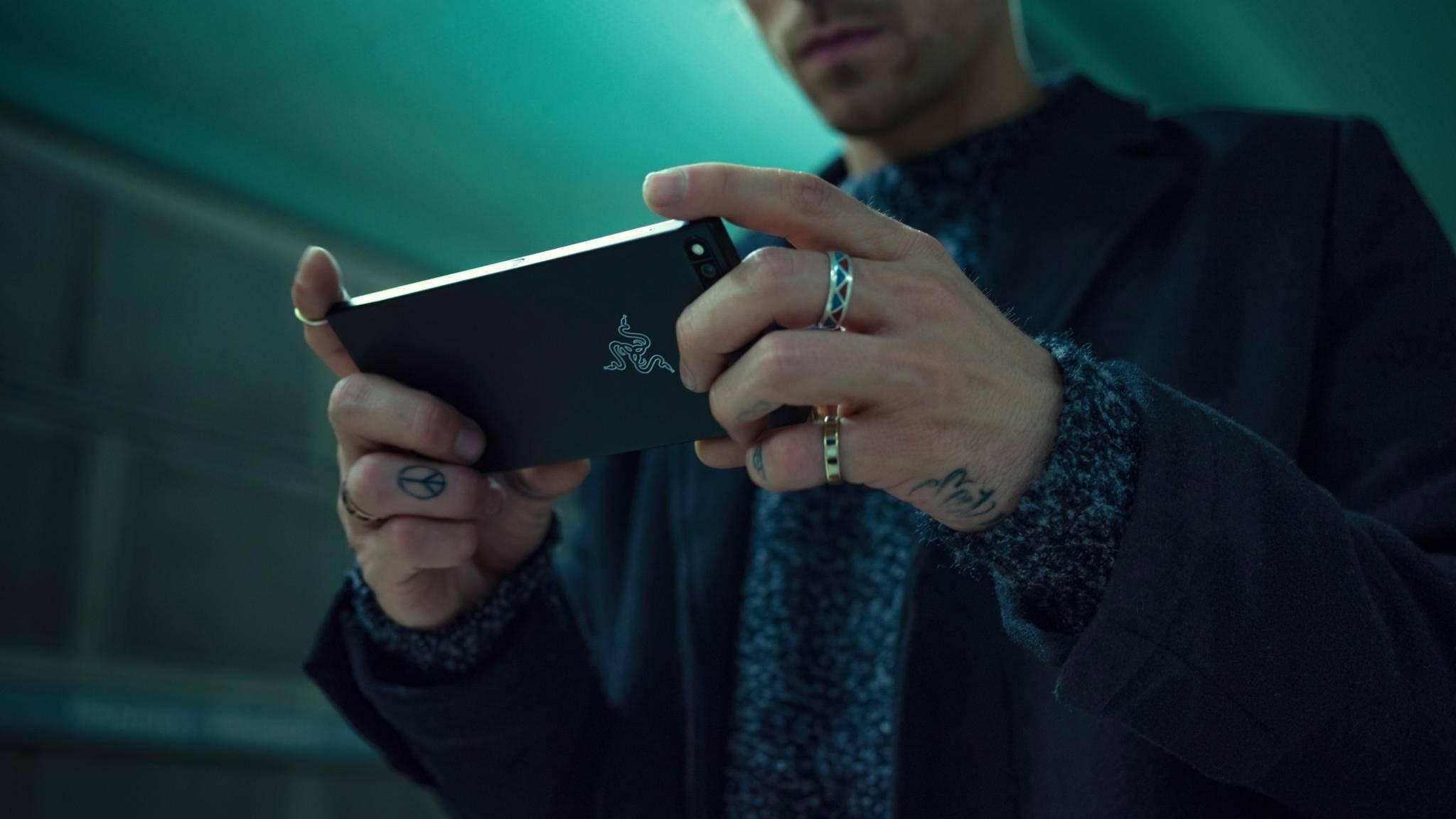 Das Razer Phone soll Gamer glücklich machen.