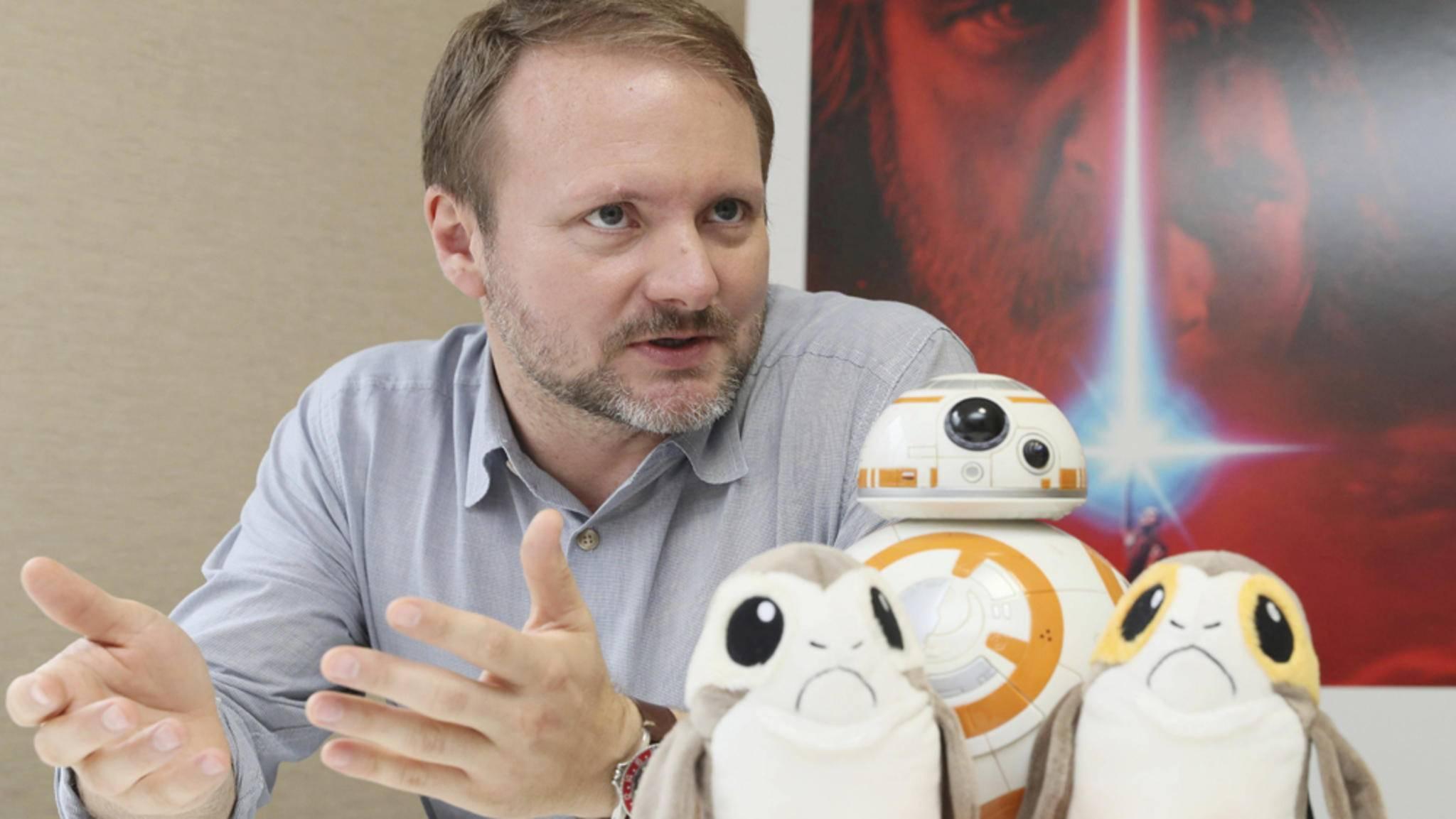 """Dank Rian Johnson erwartet uns bald noch mehr """"Star Wars""""."""