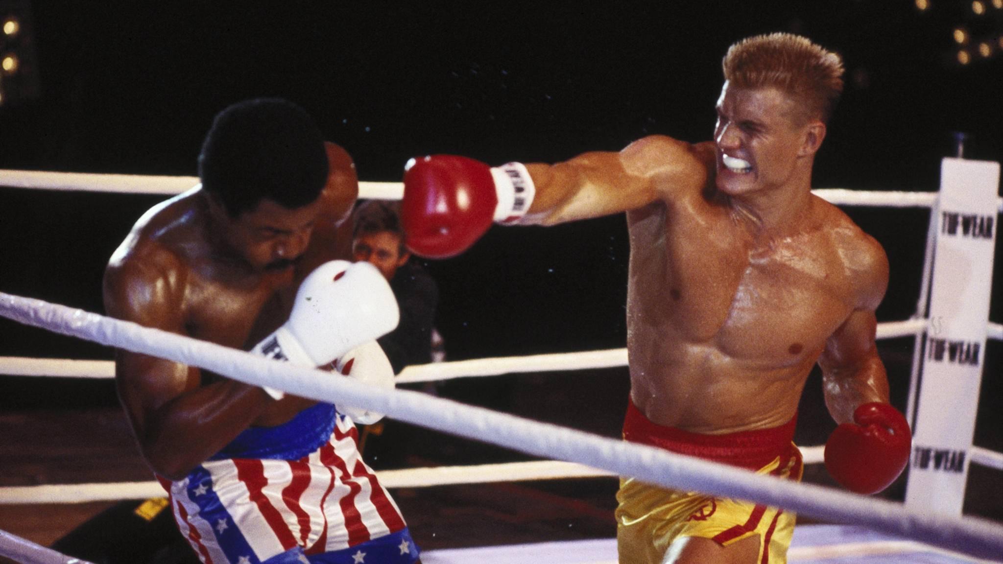 """Ob Ivan Dragos Sohn in """"Creed 2"""" genauso schlagkräftig sein wird wie einst sein Vater in """"Rocky IV""""?"""