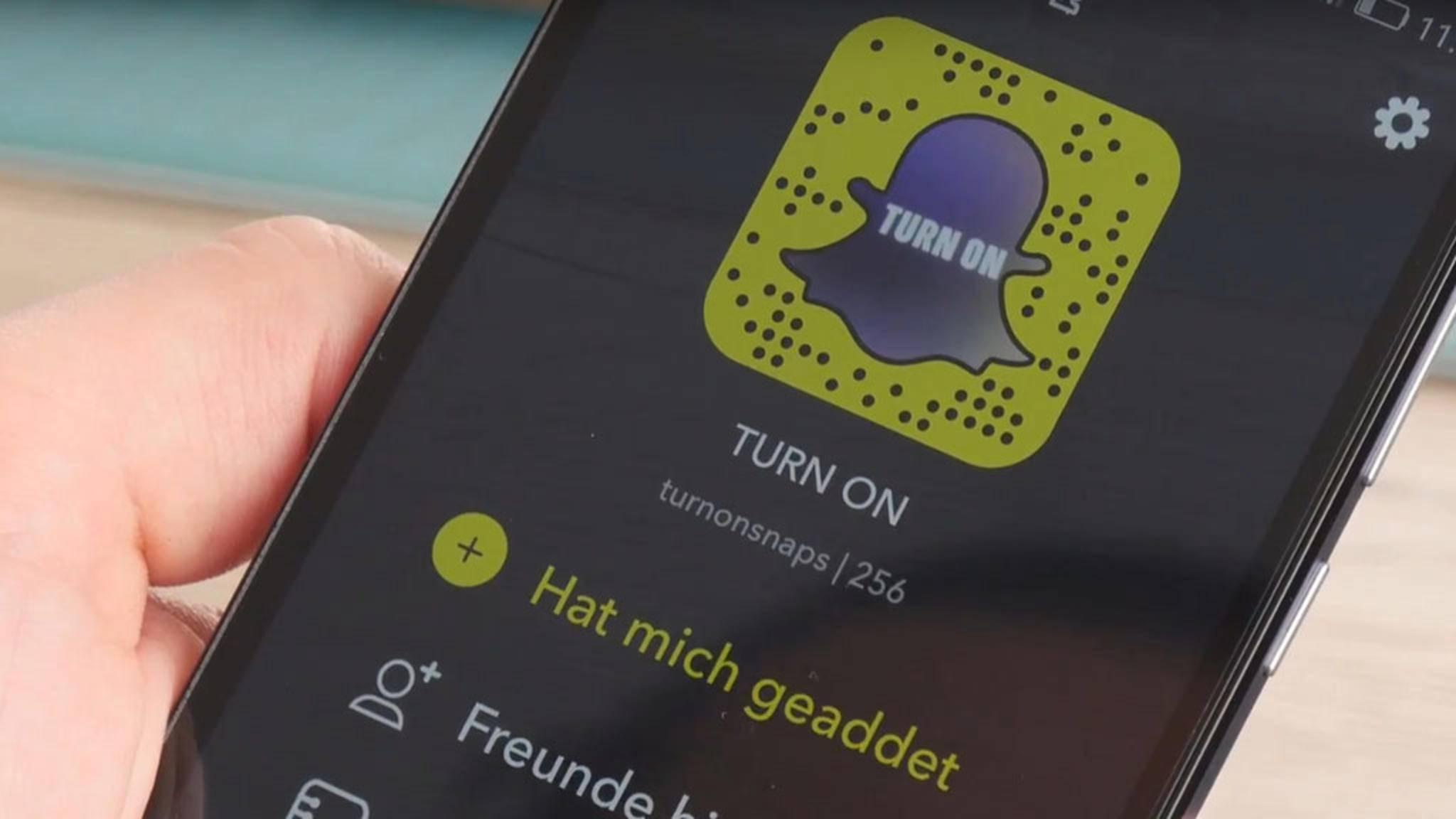 Der Displayname in Snapchat lässt sich schnell ändern.