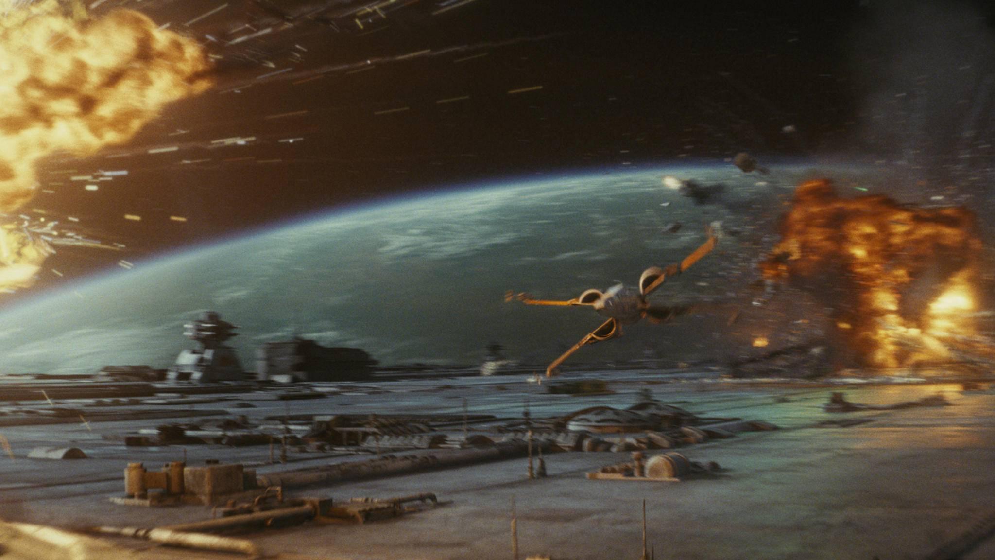 """Neue Raumschlachten im """"Star Wars""""-Universum? Denis Villeneuve hätte große Lust darauf."""