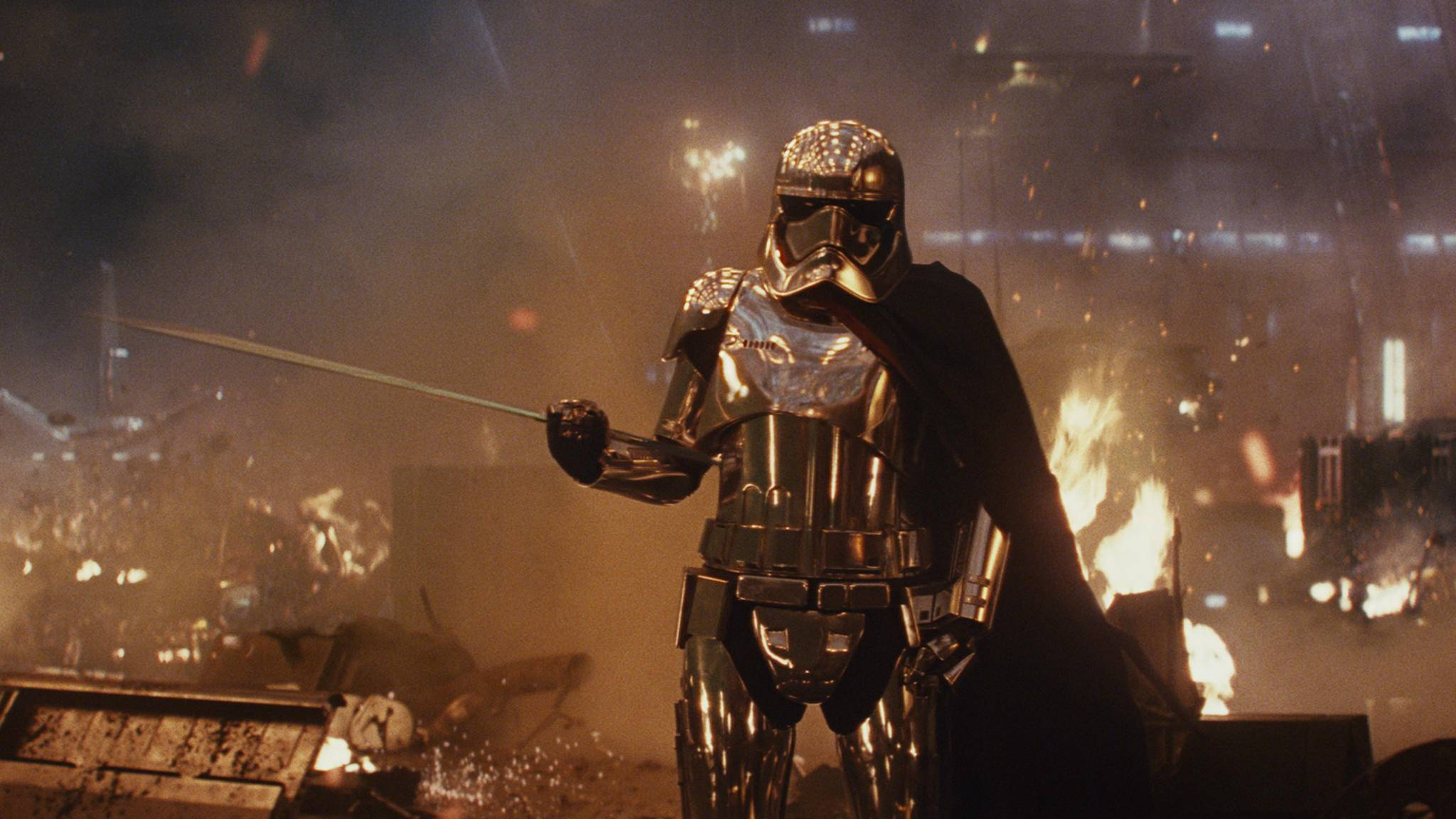 """Die Macht ist stark mit """"Star Wars: Die letzten Jedi""""."""